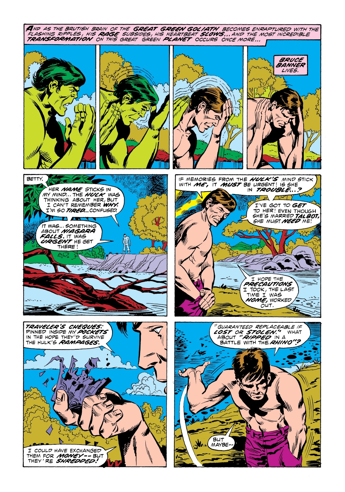 Read online Marvel Masterworks: The Incredible Hulk comic -  Issue # TPB 9 (Part 1) - 75