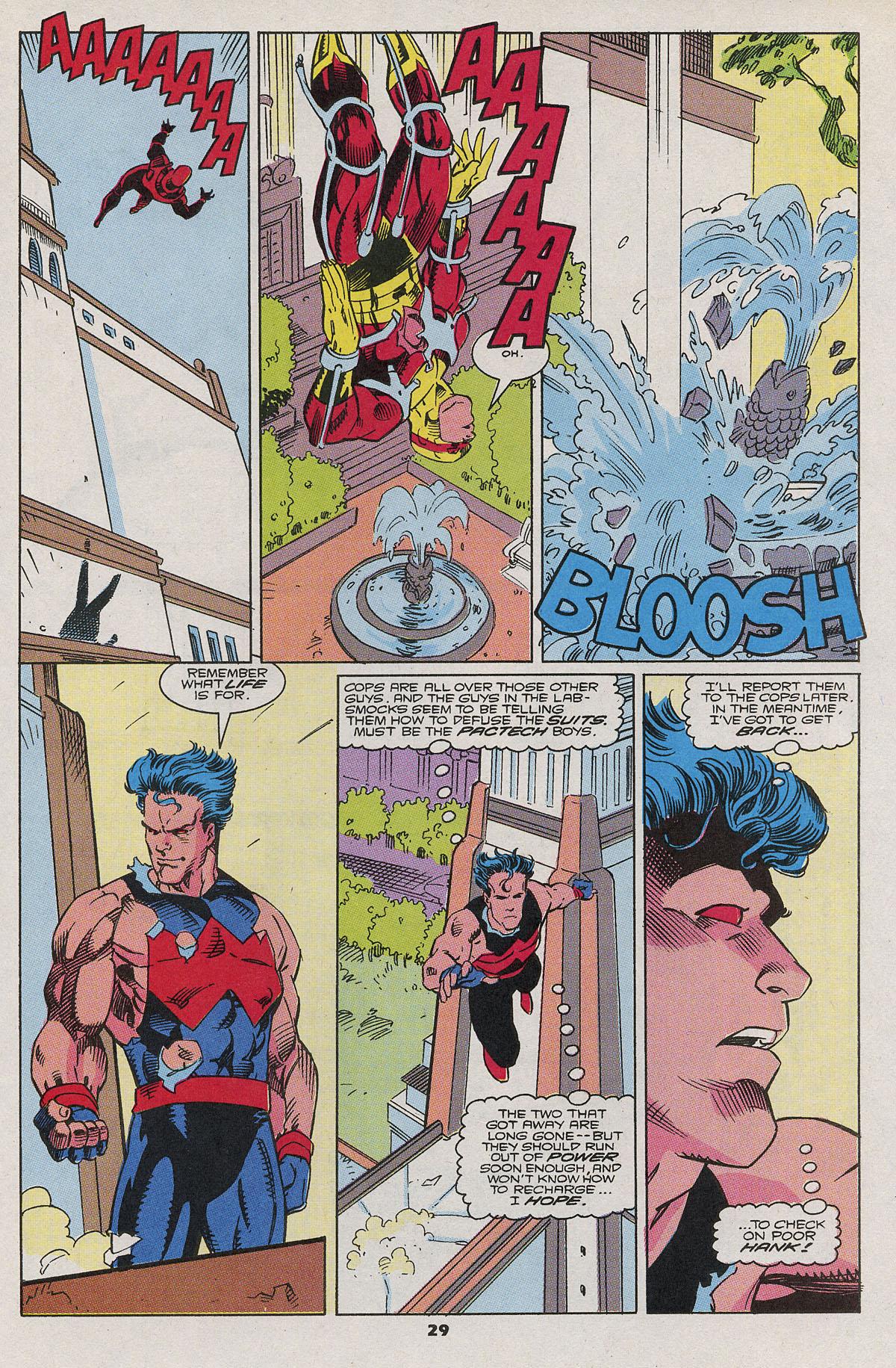 Read online Wonder Man (1991) comic -  Issue #6 - 23