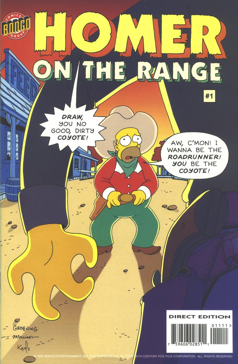 Read online Simpsons Comics comic -  Issue #11 - 32