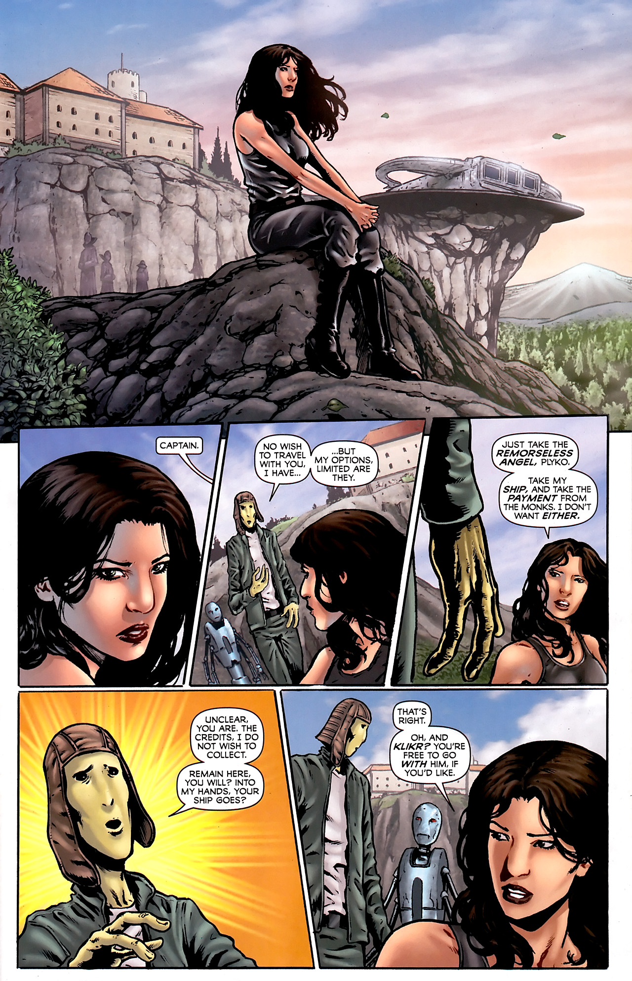 Read online Stargate Vala Mal Doran comic -  Issue #3 - 15