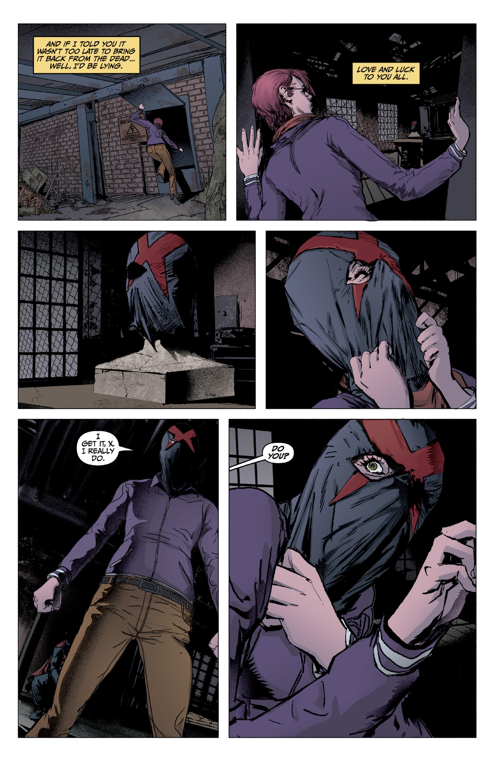 Read online X: Big Bad comic -  Issue # Full - 123