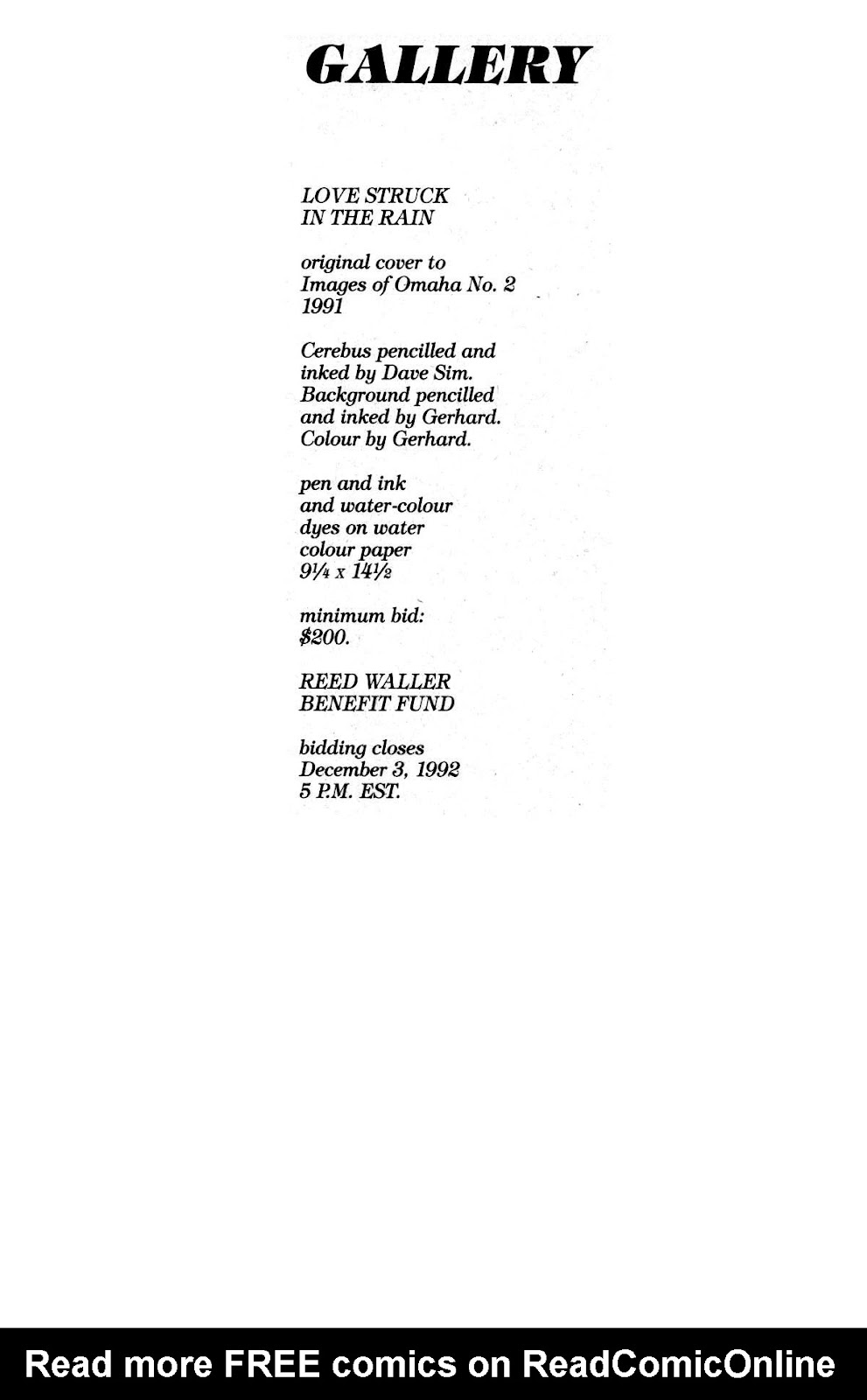 Cerebus Issue #163 #162 - English 33