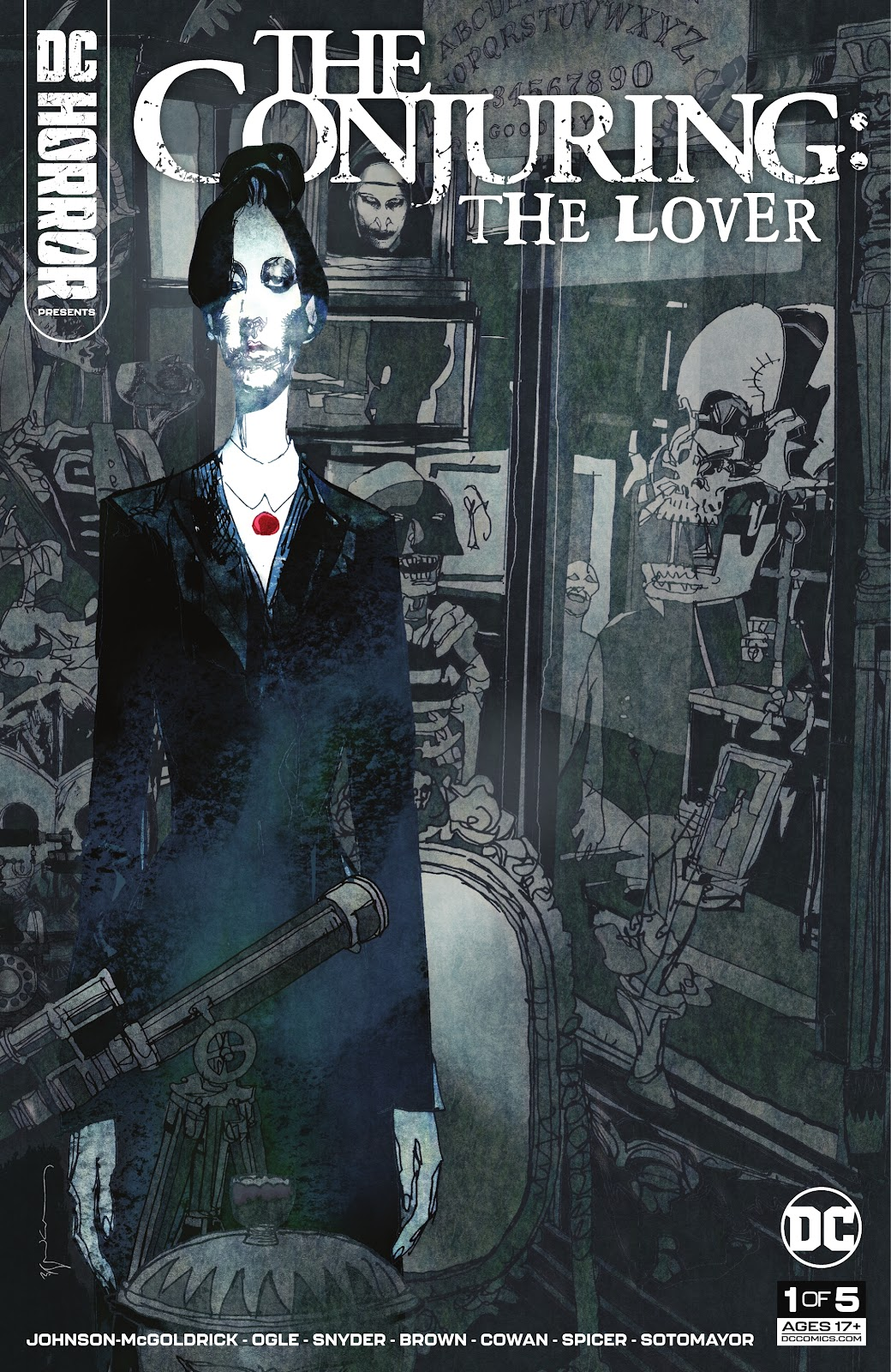 DC Horror Presents: The Conjuring: The Lover issue 1 - Page 1