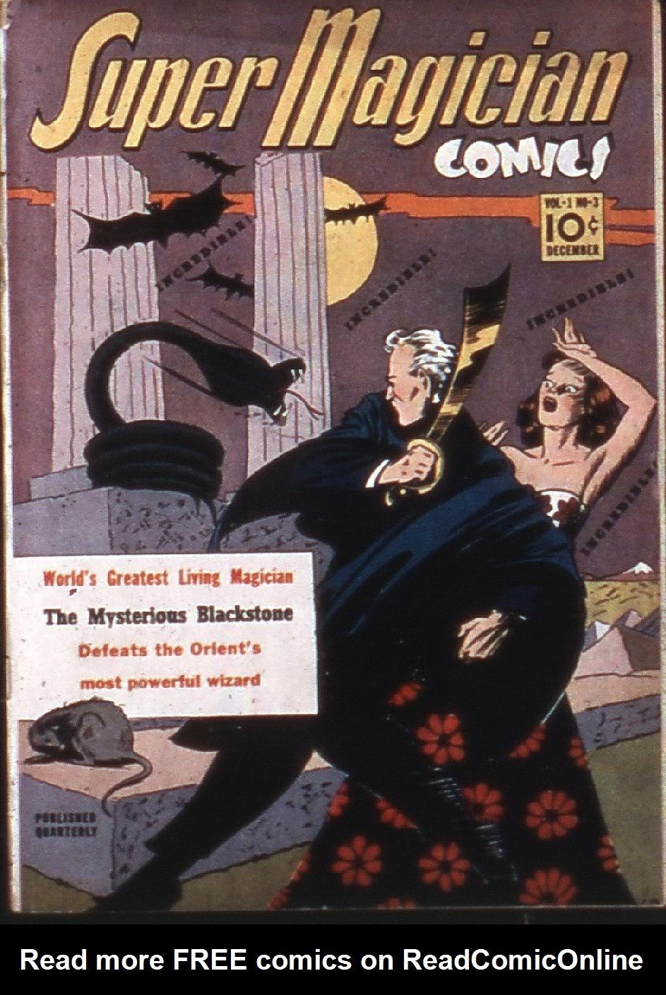 Read online Super-Magician Comics comic -  Issue #3 - 1
