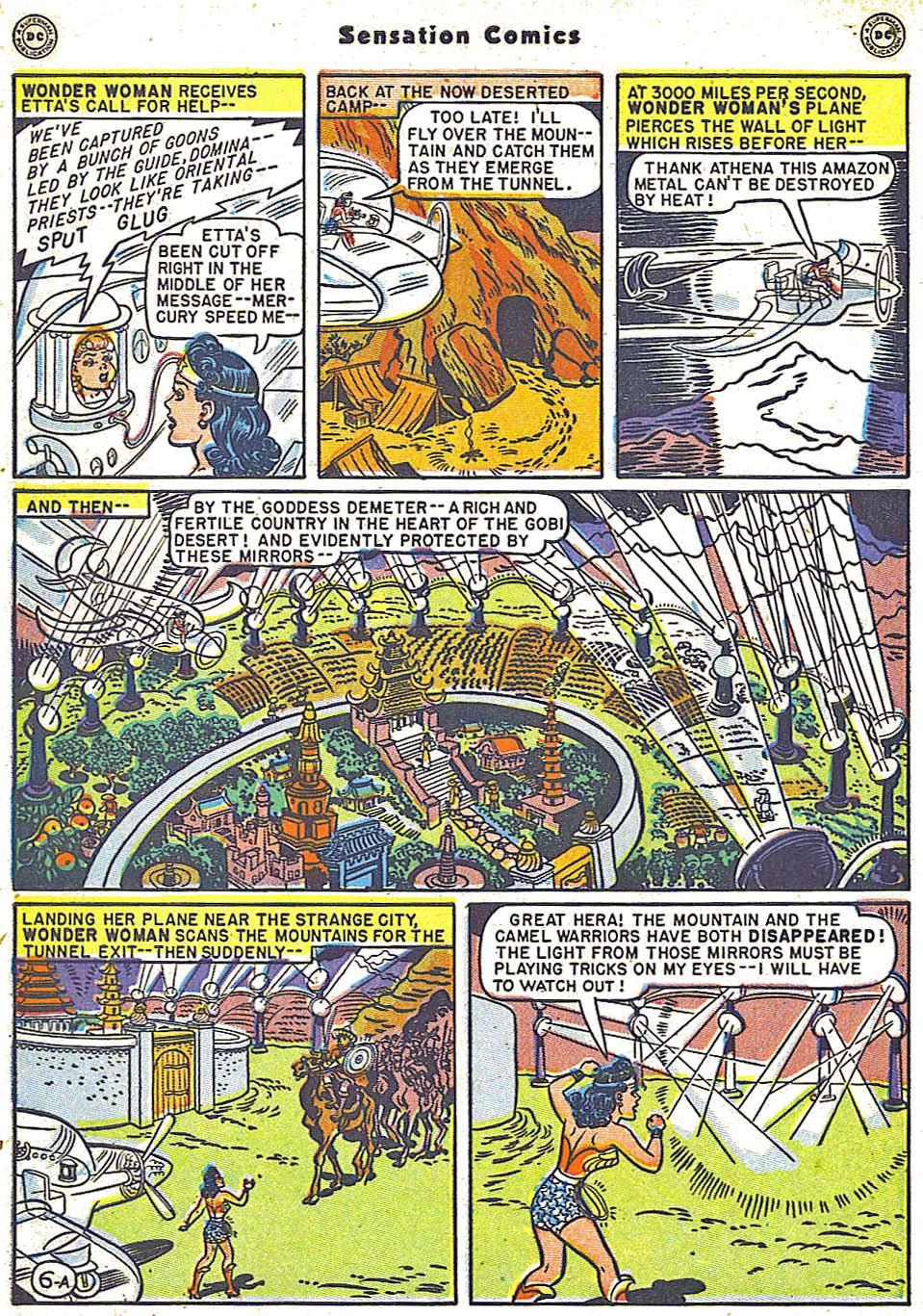 Read online Sensation (Mystery) Comics comic -  Issue #79 - 8