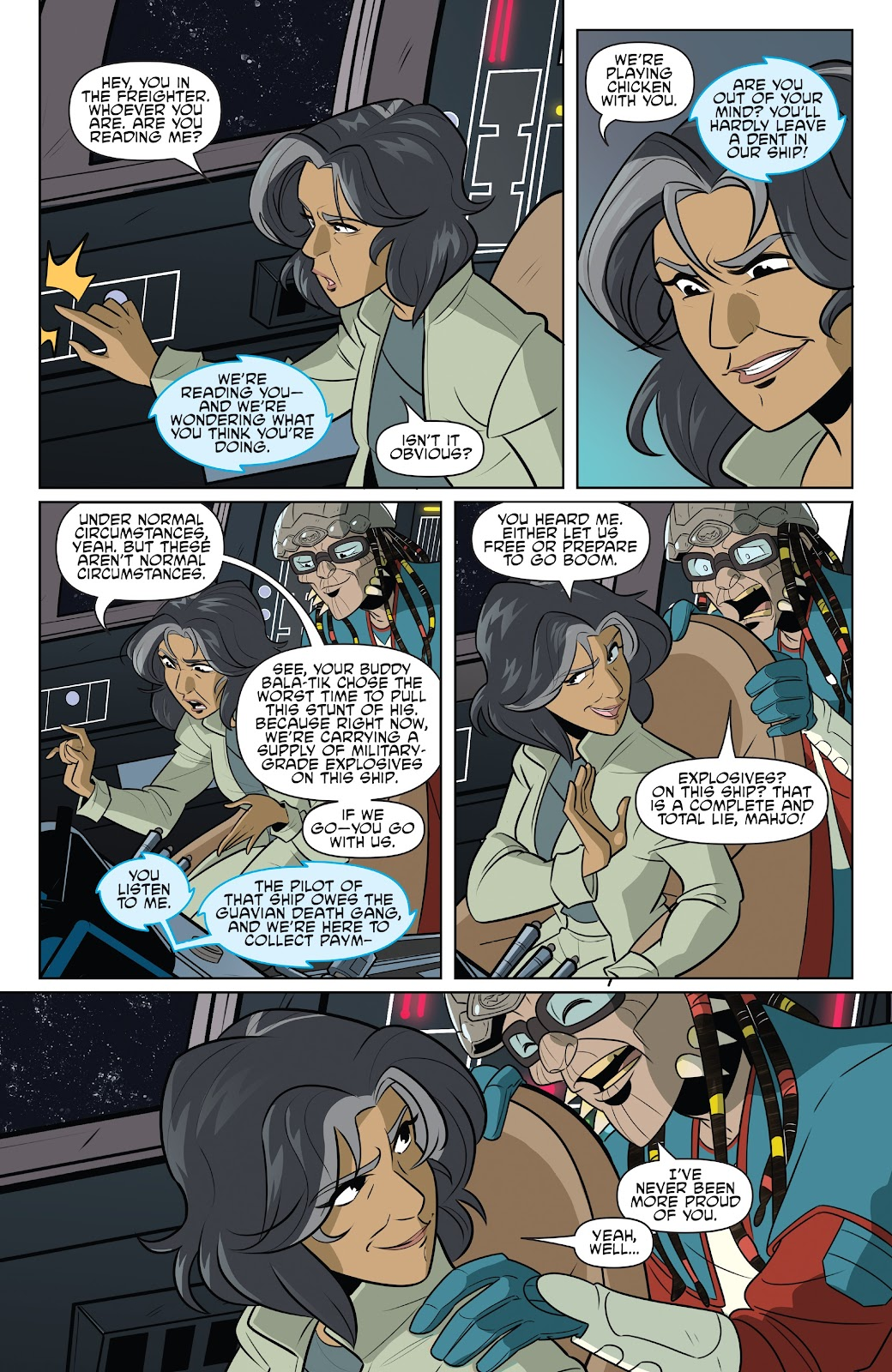 Read online Star Wars Adventures: Flight of the Falcon comic -  Issue # Full - 18