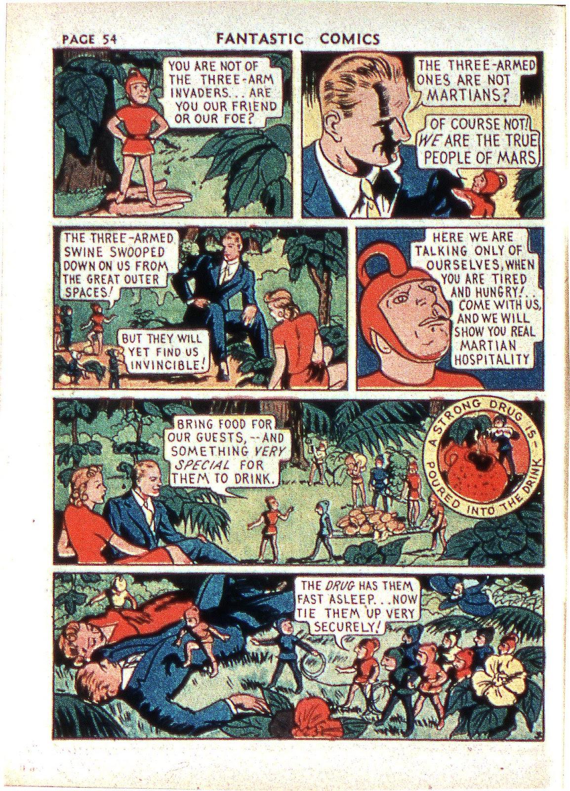 Read online Fantastic Comics comic -  Issue #2 - 55