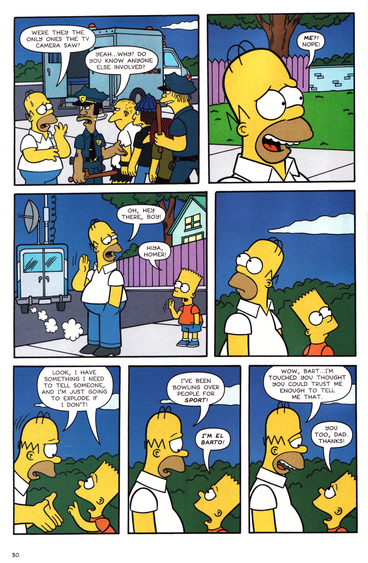 Read online Simpsons Comics comic -  Issue #136 - 25