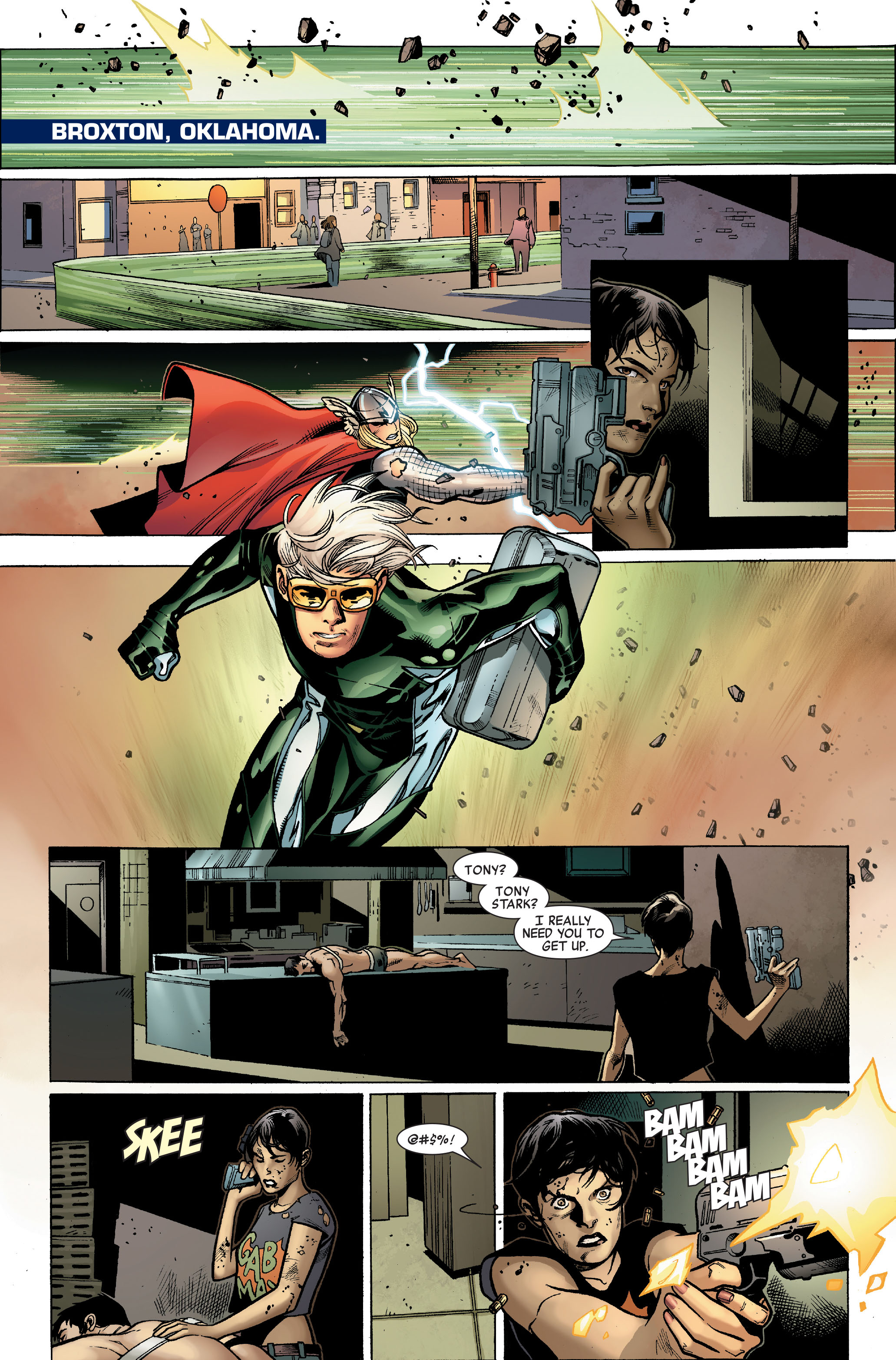 Read online Siege (2010) comic -  Issue #3 - 10