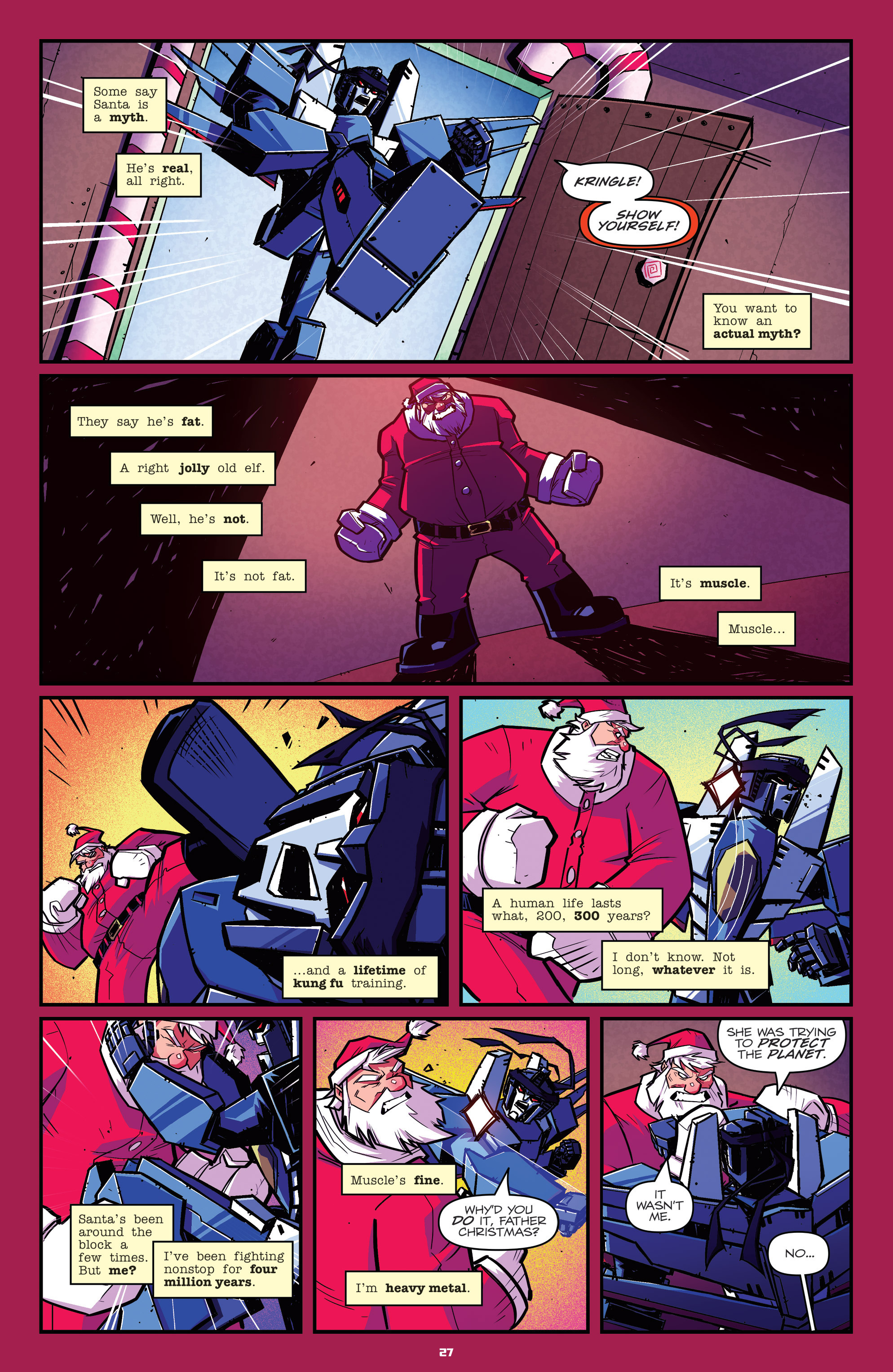 Read online Transformers: Holiday Special comic -  Issue # Full - 29