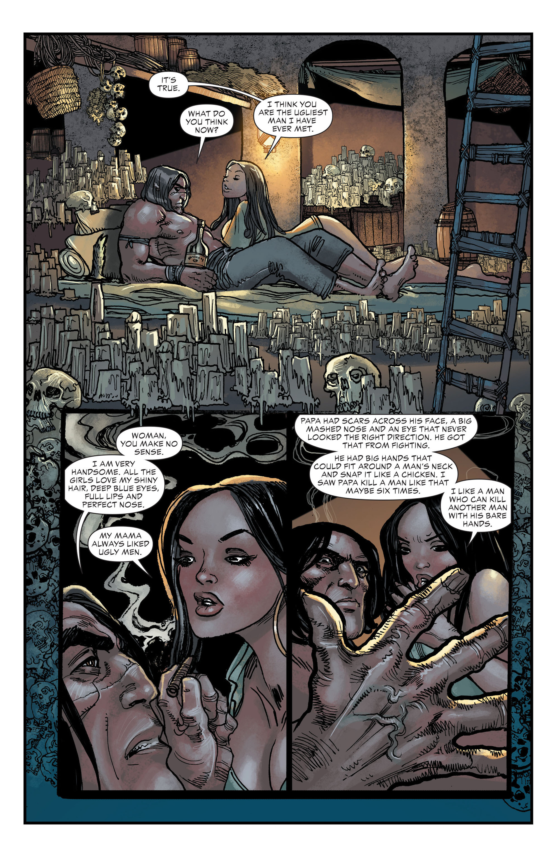 Read online All-Star Western (2011) comic -  Issue #20 - 10