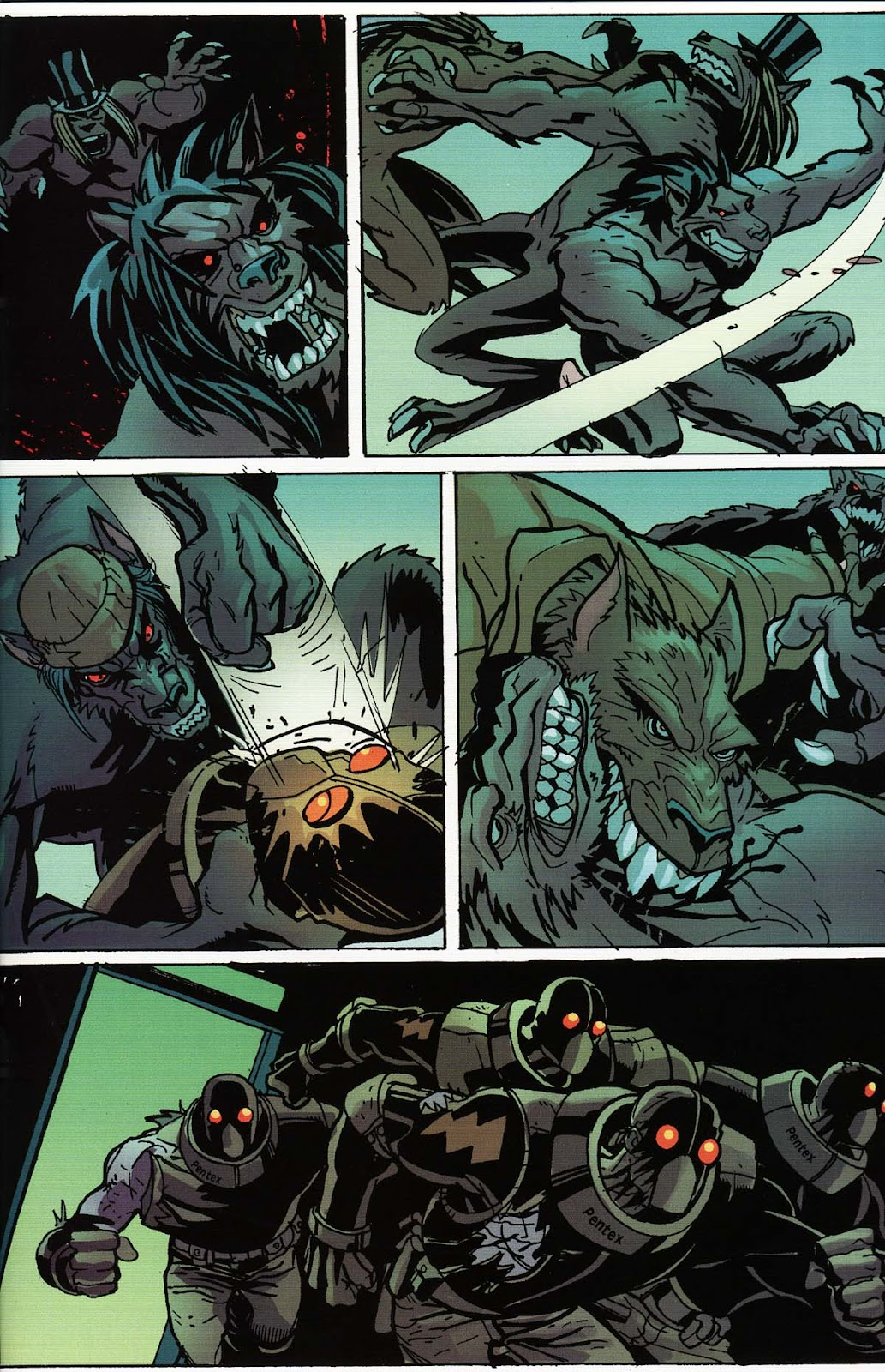 Read online Werewolf the Apocalypse comic -  Issue # Bone Gnawers - 39