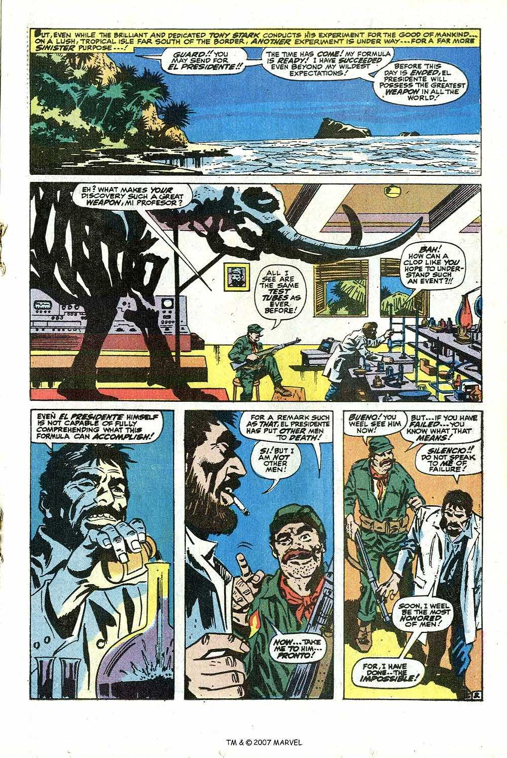 Iron Man Annual issue 2 - Page 5