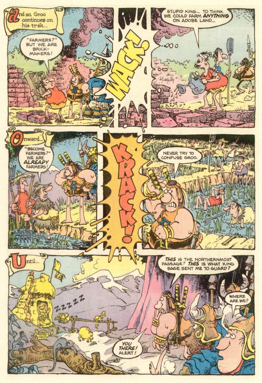 Read online Sergio Aragonés Groo the Wanderer comic -  Issue #13 - 18