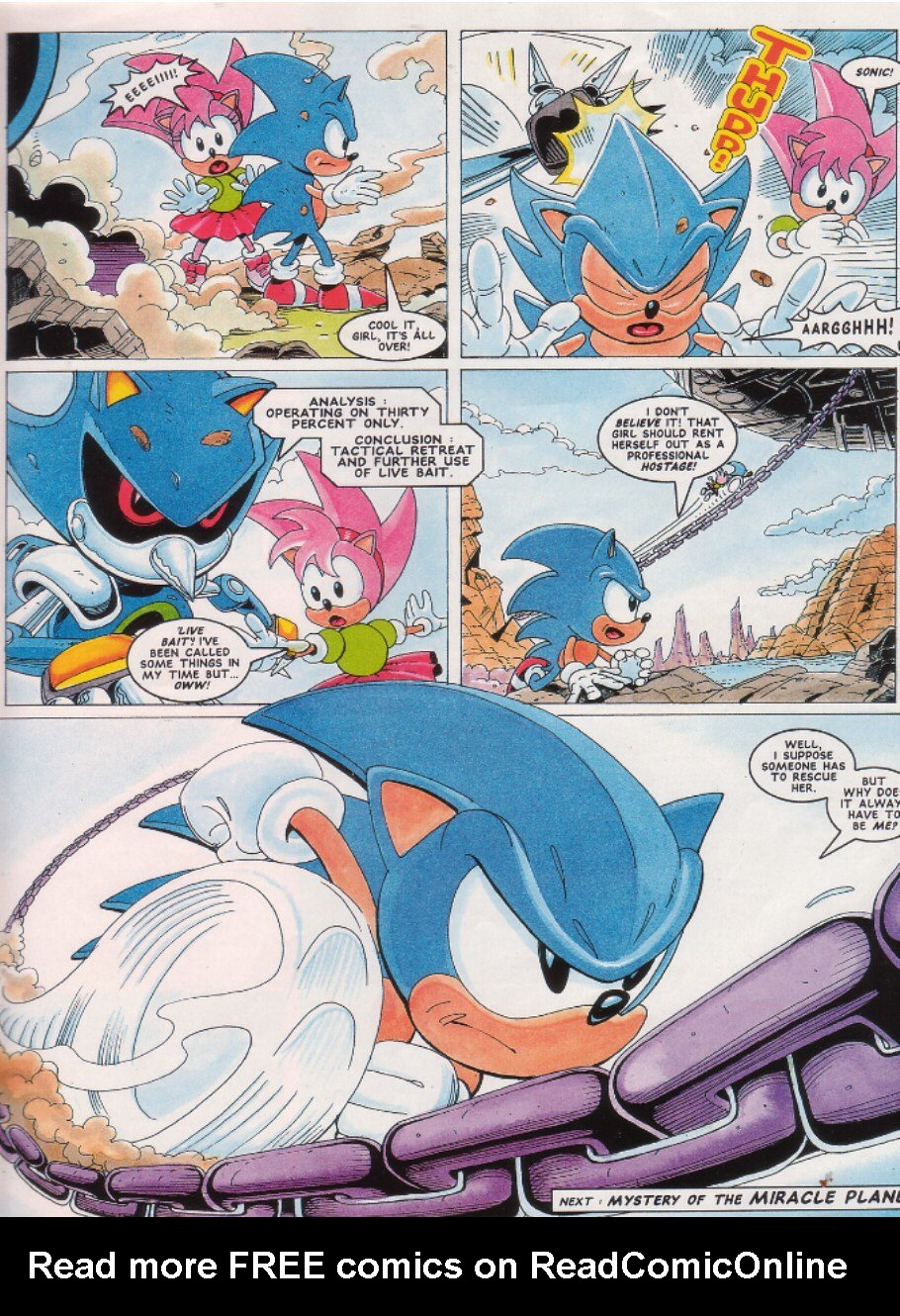 Read online Sonic the Comic comic -  Issue #26 - 9