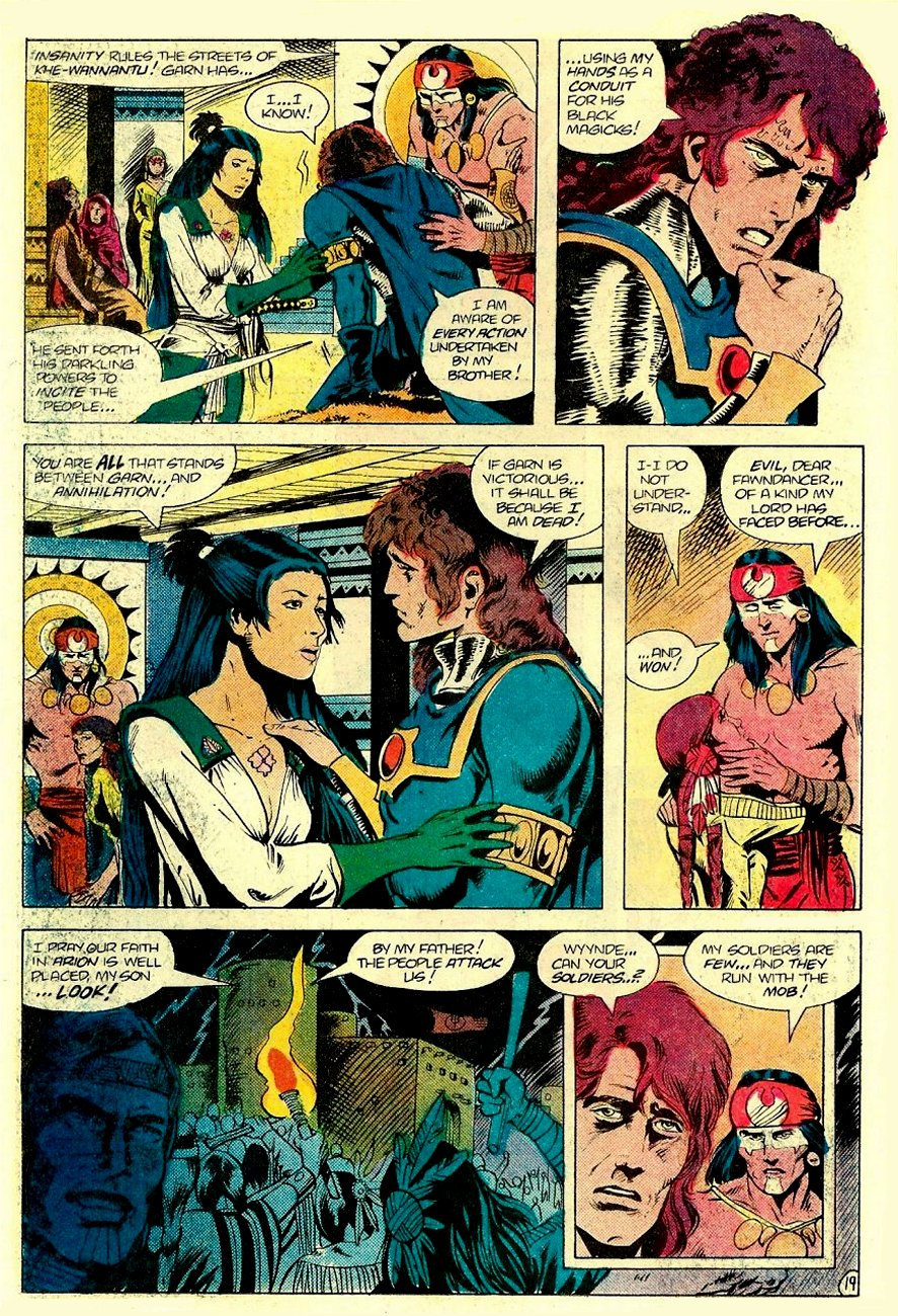 Read online Arion, Lord of Atlantis comic -  Issue #17 - 20
