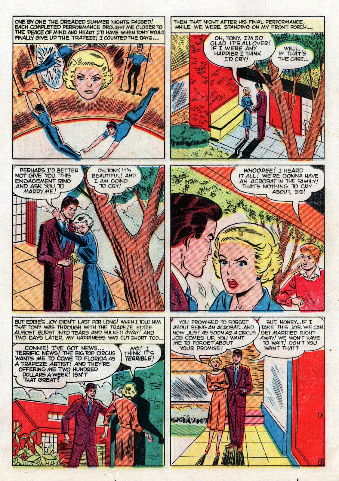 Love Romances (1949) issue 19 - Page 22