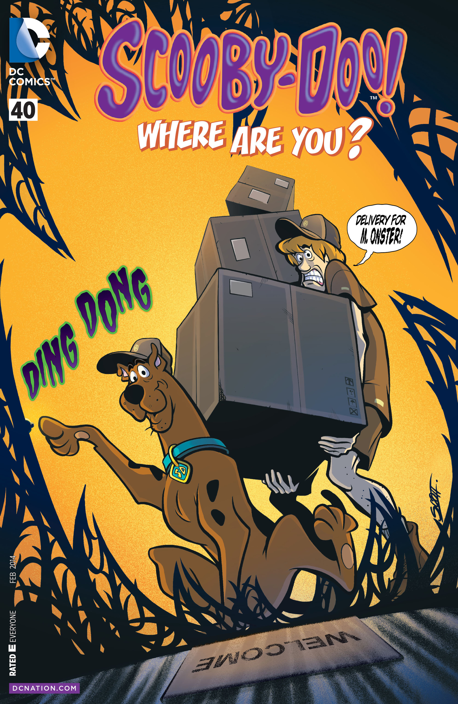 Read online Scooby-Doo: Where Are You? comic -  Issue #40 - 1