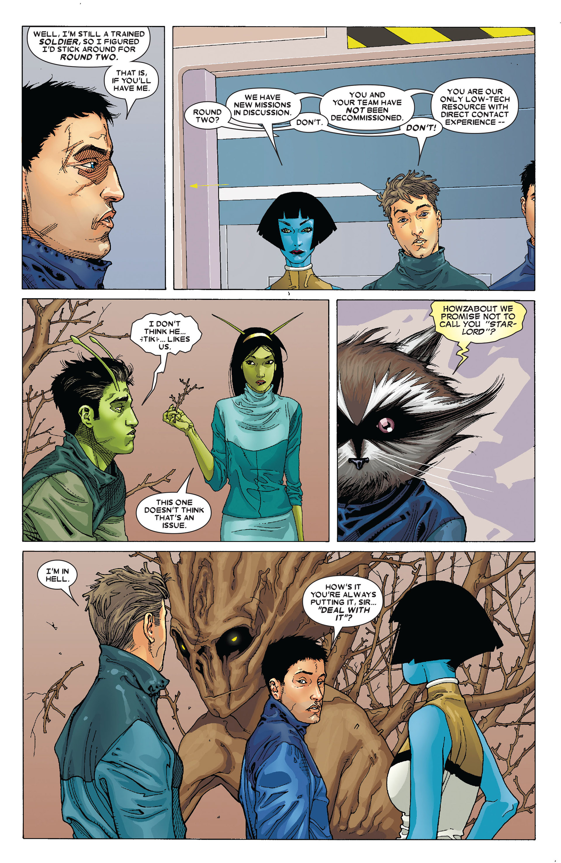 Read online Annihilation: Conquest - Starlord comic -  Issue #4 - 22