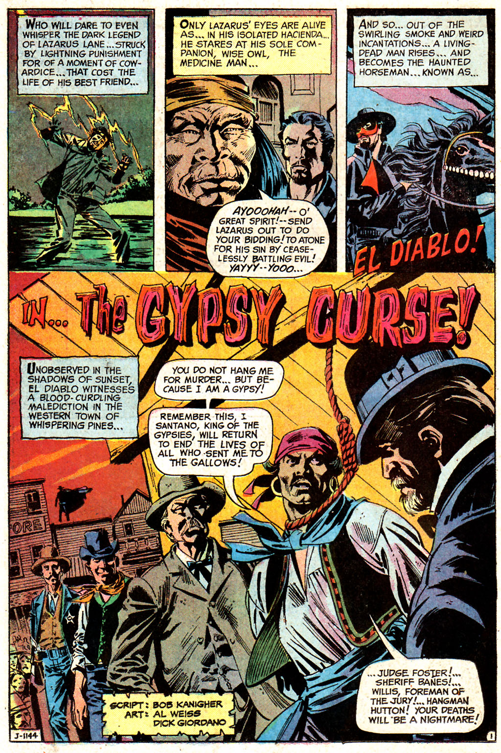 Read online All-Star Western (1970) comic -  Issue #7 - 38