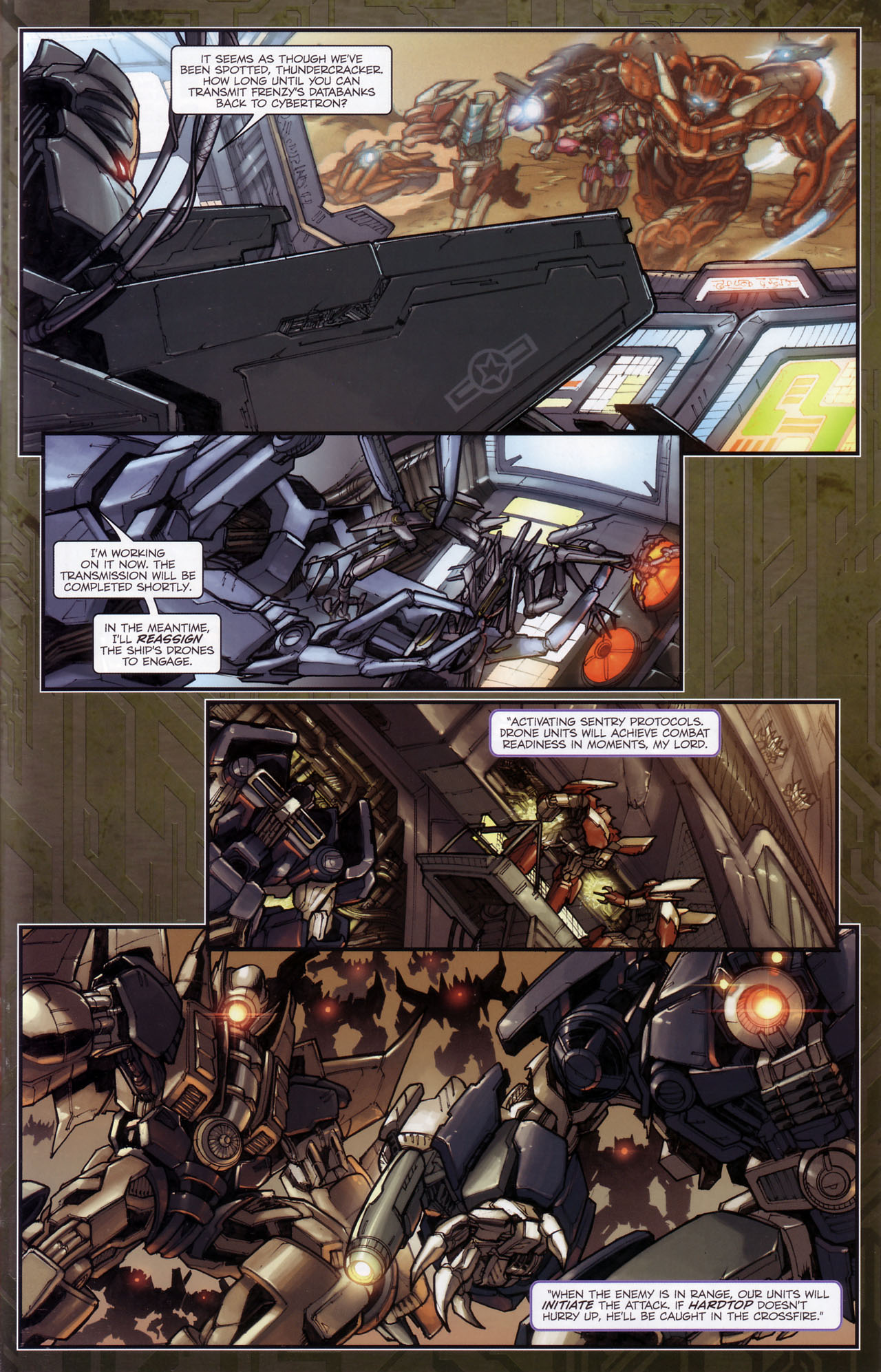 Read online Transformers: The Reign of Starscream comic -  Issue #3 - 3