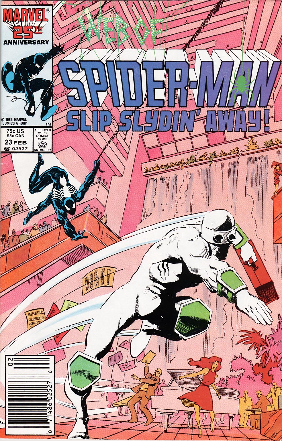 Web of Spider-Man (1985) Issue #23 #33 - English 1