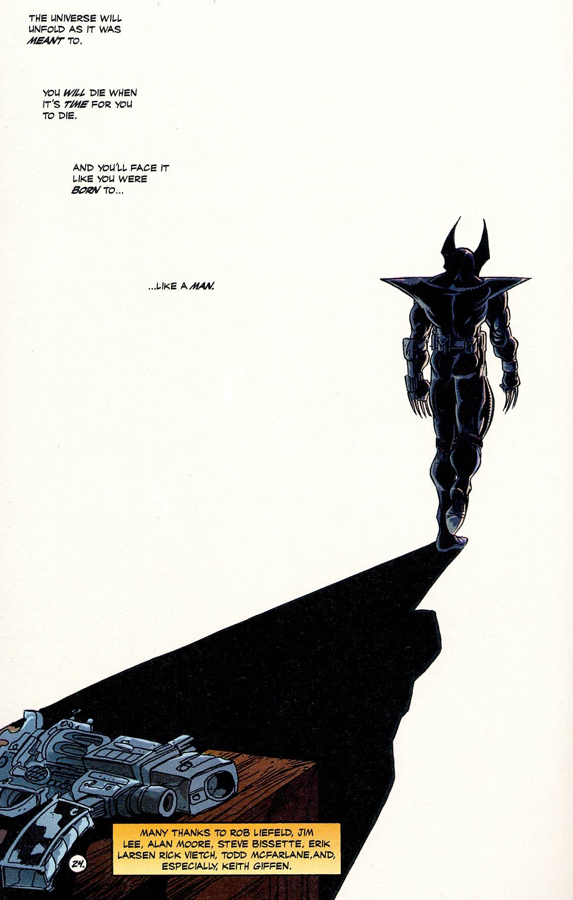 Read online ShadowHawk comic -  Issue #17 - 23