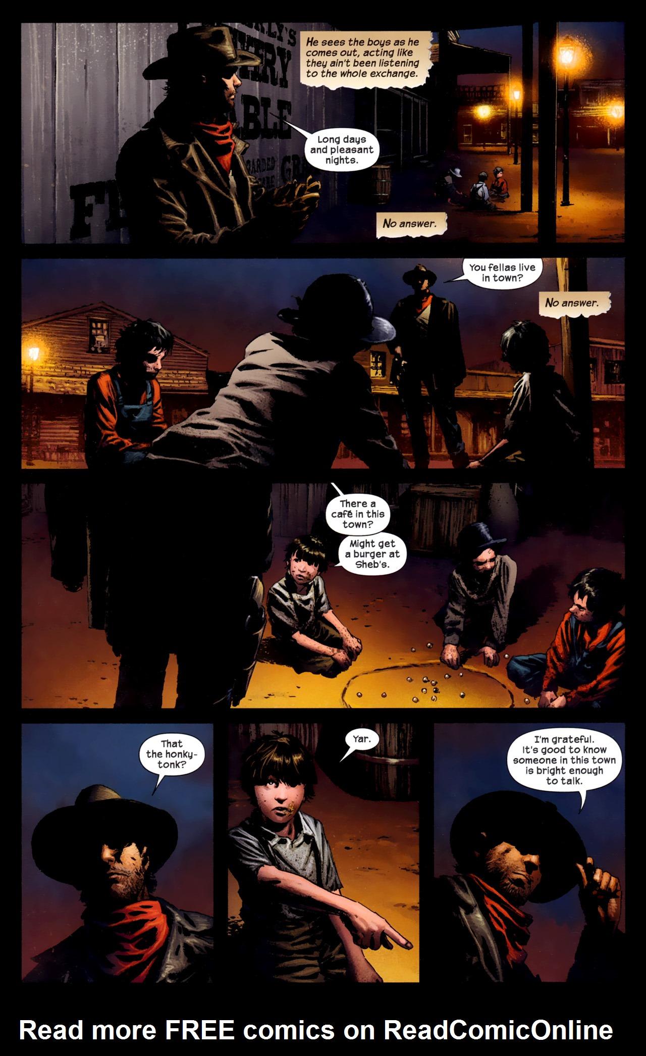 Read online Dark Tower: The Gunslinger - The Battle of Tull comic -  Issue #1 - 16