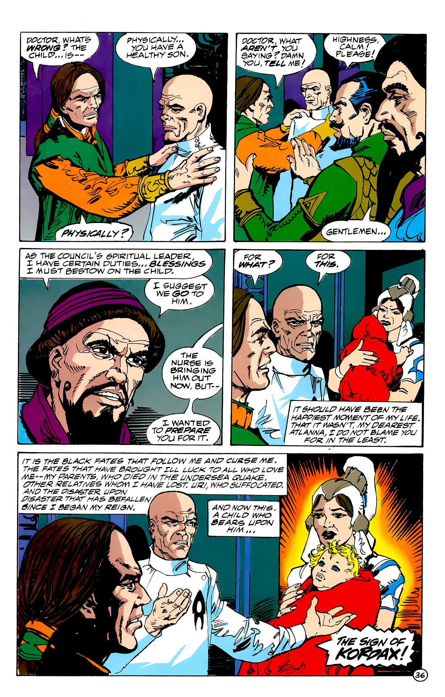 Read online Atlantis Chronicles comic -  Issue #7 - 37
