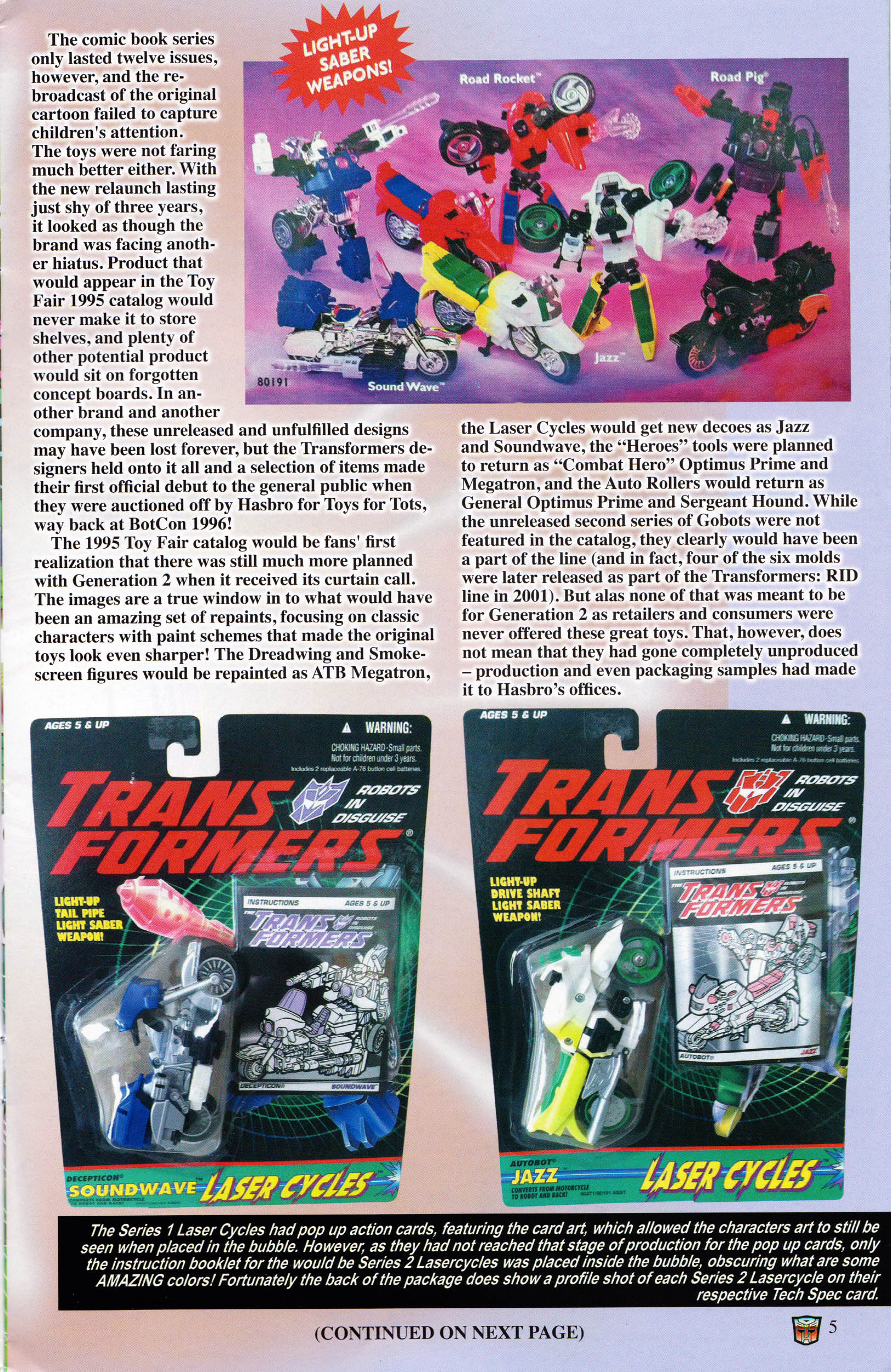 Read online Transformers: Collectors' Club comic -  Issue #59 - 5