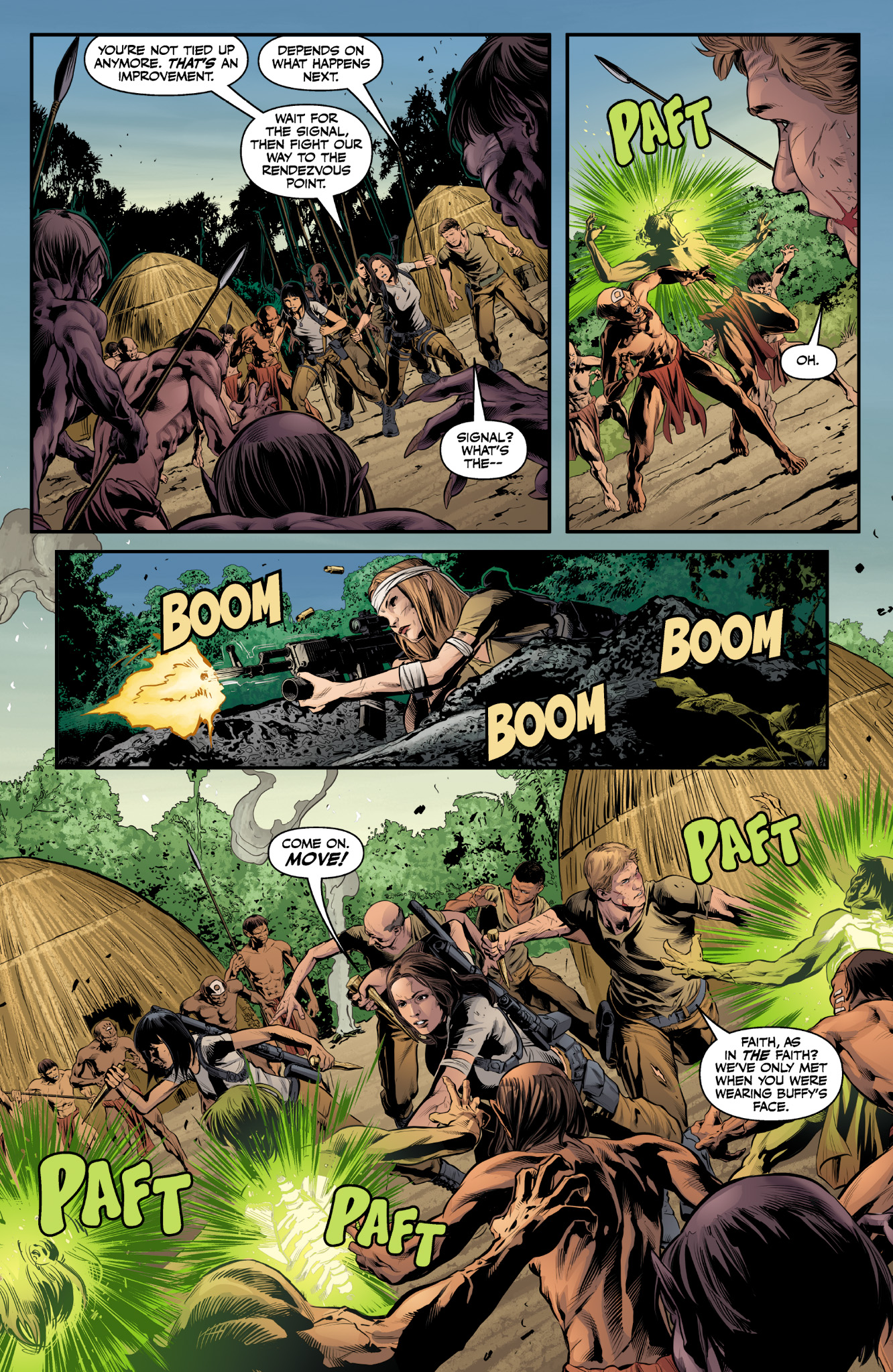 Read online Angel & Faith Season 10 comic -  Issue #9 - 15