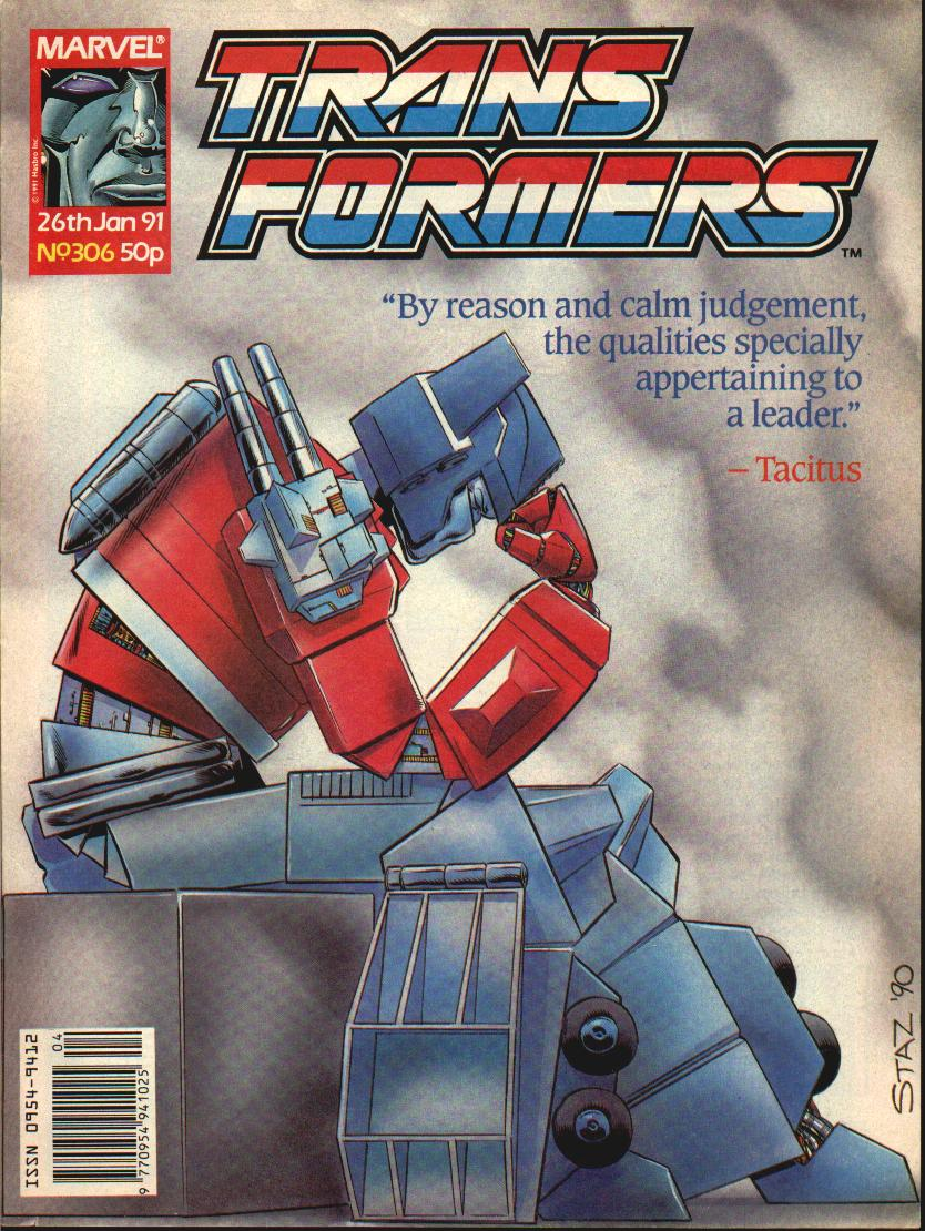 The Transformers (UK) 306 Page 1