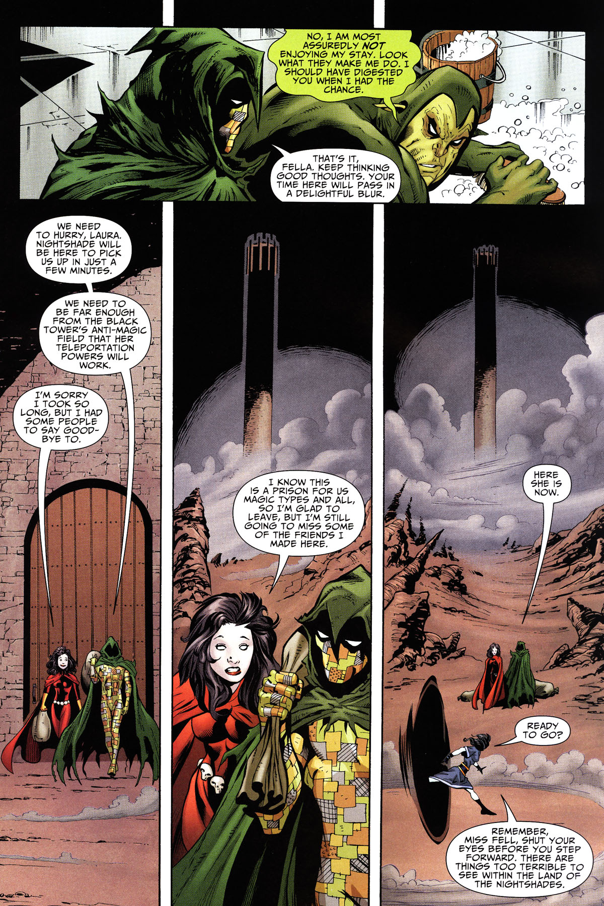 Read online Shadowpact comic -  Issue #10 - 4