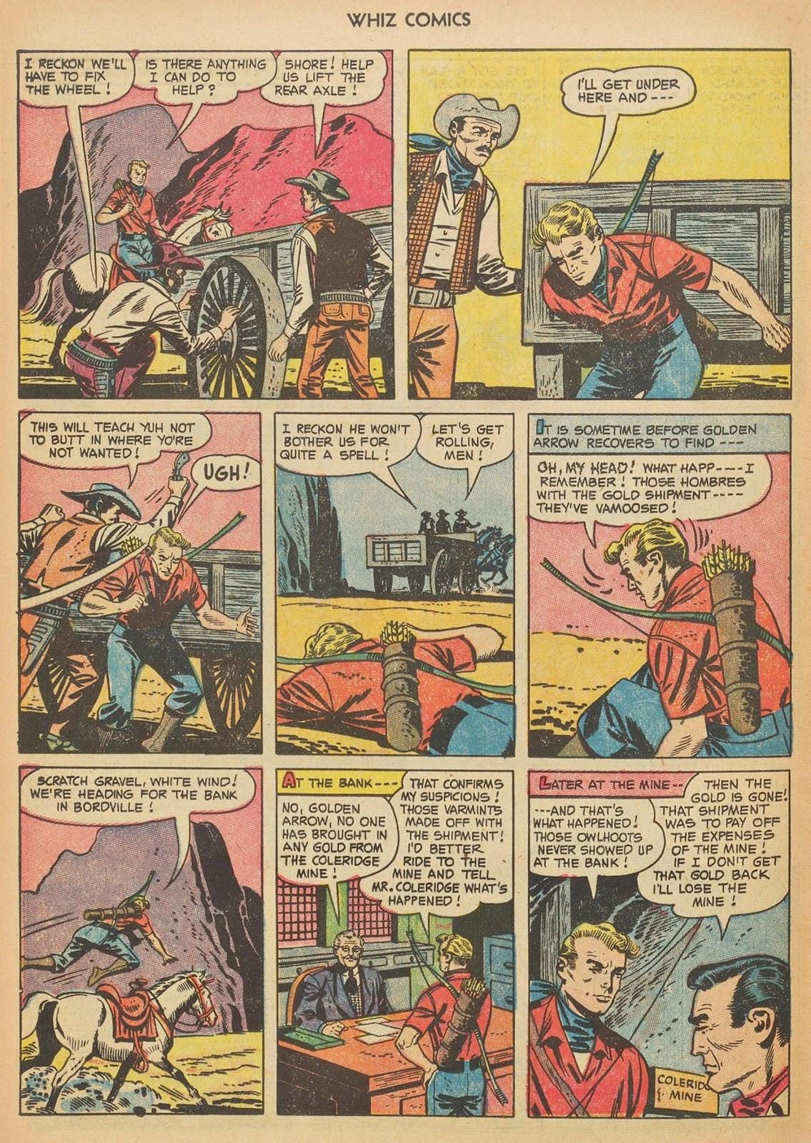 Read online WHIZ Comics comic -  Issue #153 - 20