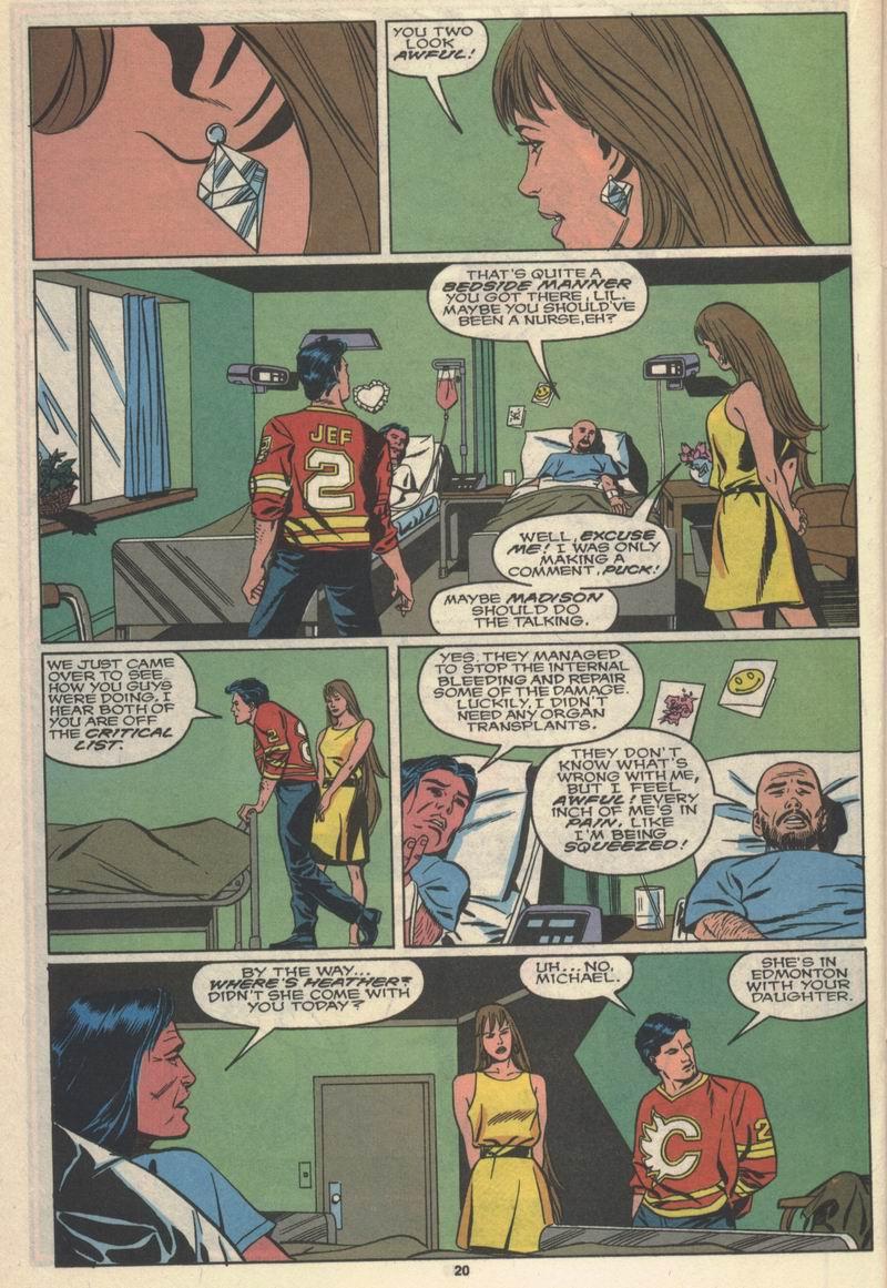 Read online Alpha Flight (1983) comic -  Issue #78 - 17