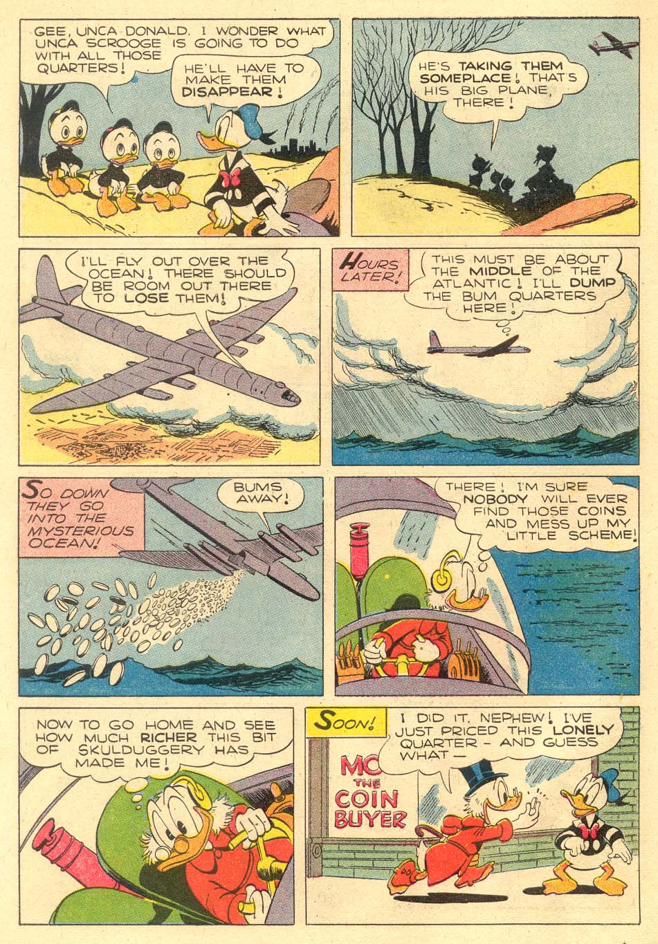 Read online Uncle Scrooge (1953) comic -  Issue #5 - 10