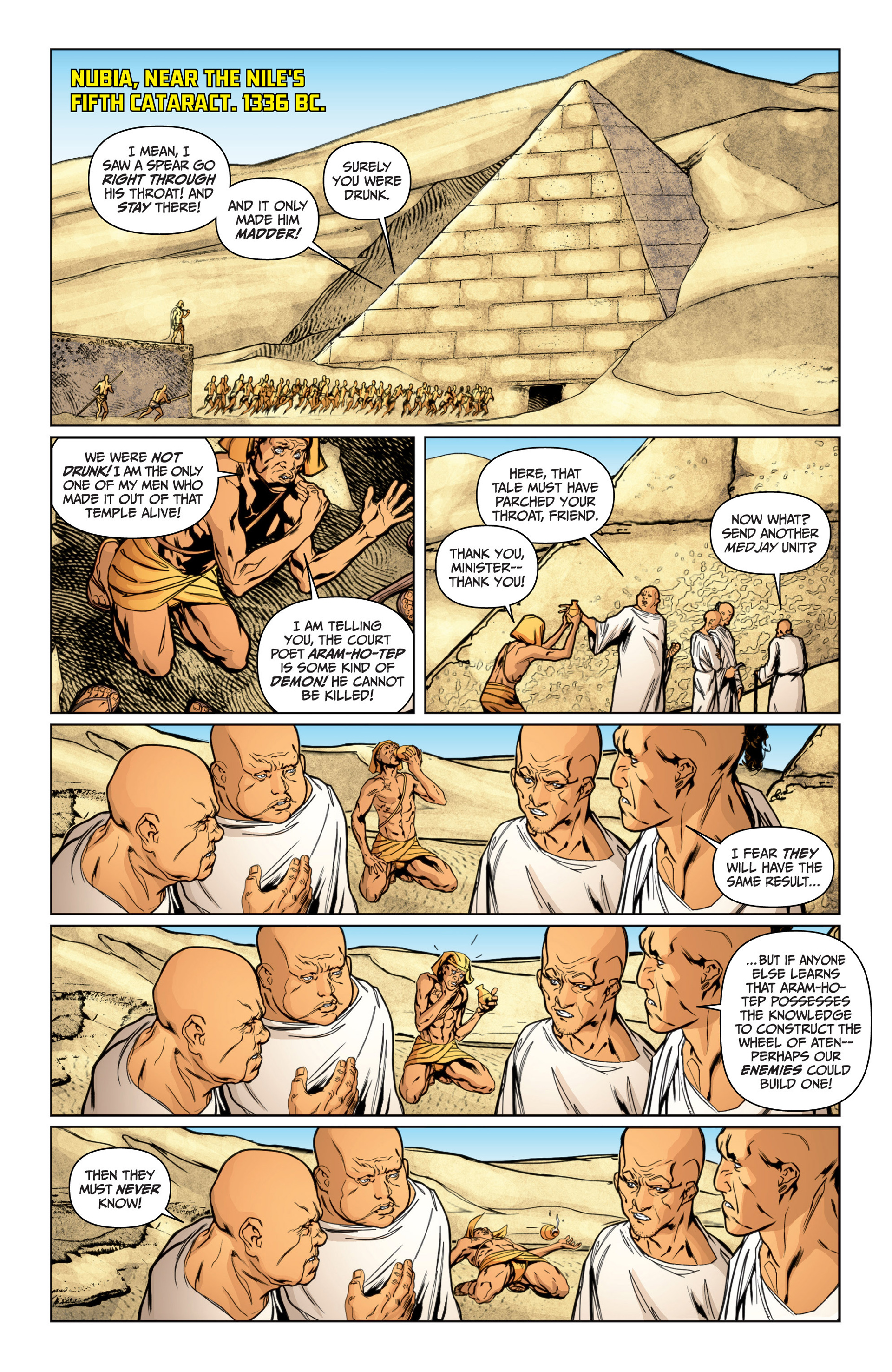 Read online Archer and Armstrong comic -  Issue #16 - 3