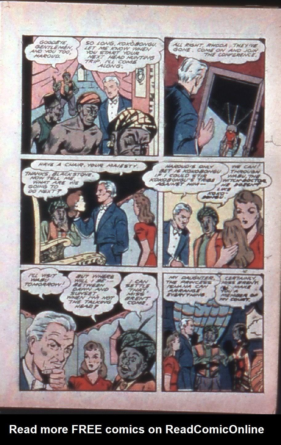 Read online Super-Magician Comics comic -  Issue #7 - 13
