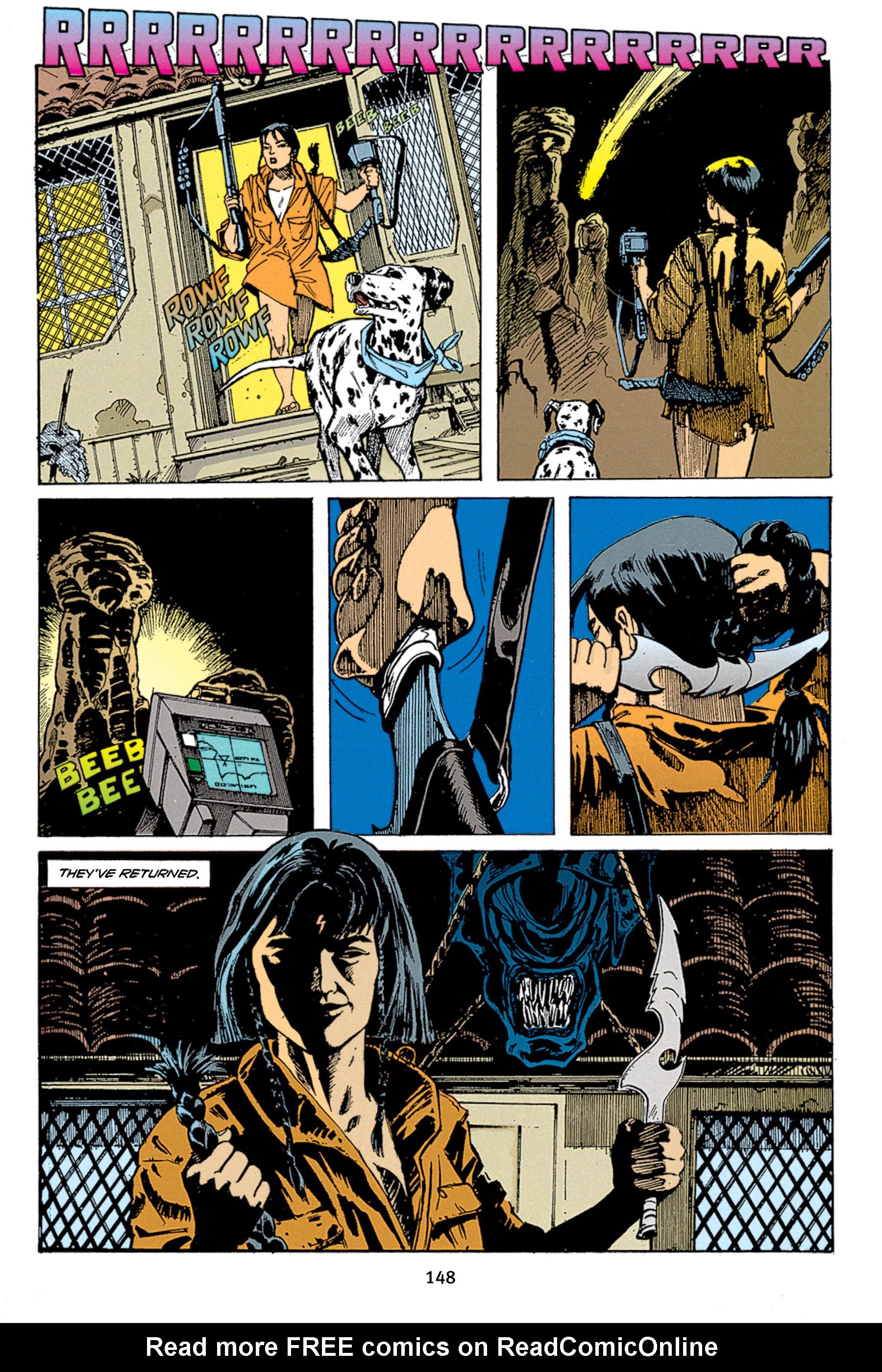 Read online Aliens vs. Predator Omnibus comic -  Issue # _TPB 1 Part 2 - 47