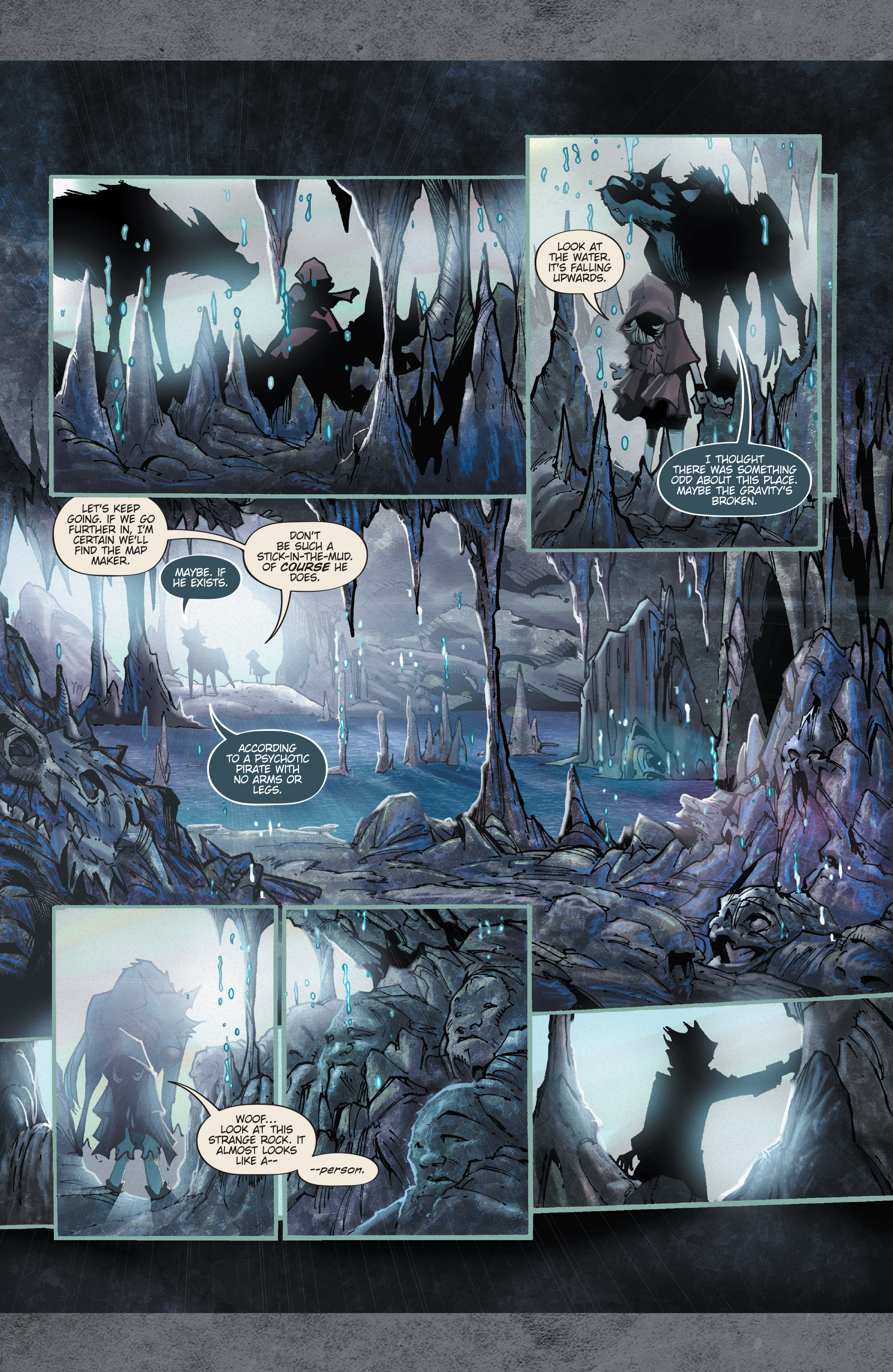 Read online Fairy Quest: Outcasts comic -  Issue #1 - 24