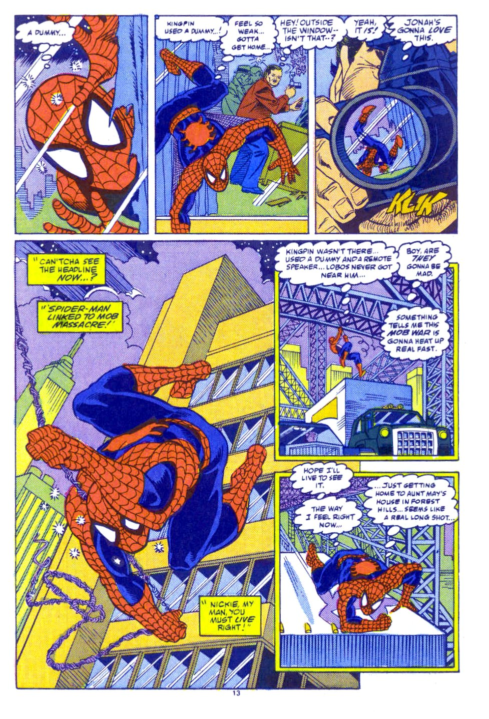 Web of Spider-Man (1985) Issue #54 #64 - English 10