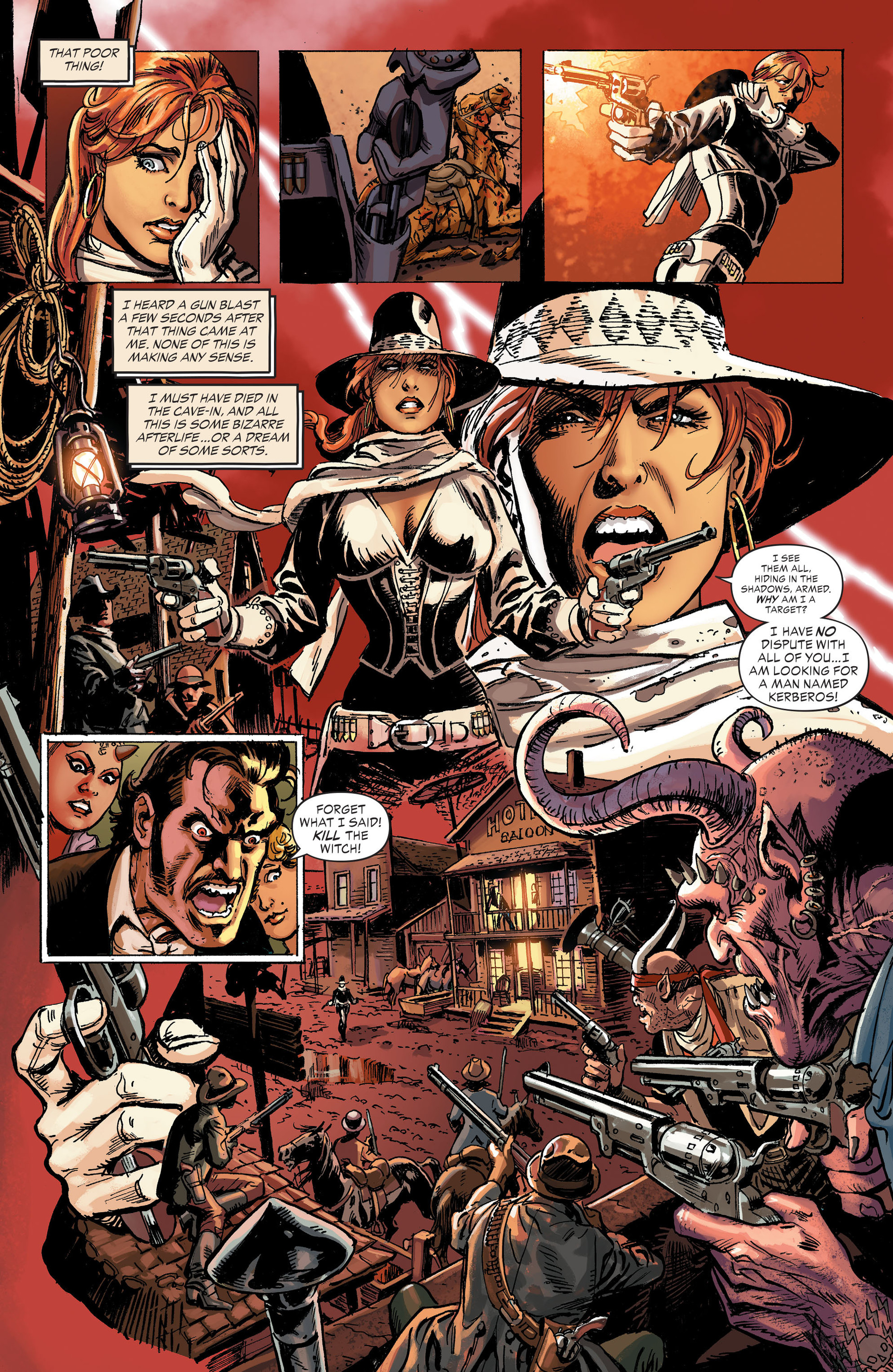 Read online All-Star Western (2011) comic -  Issue #31 - 21