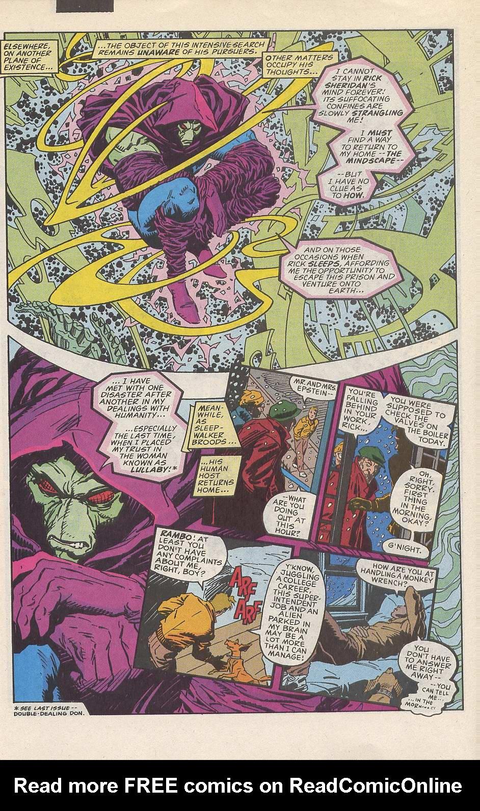 Read online Sleepwalker comic -  Issue #10 - 5