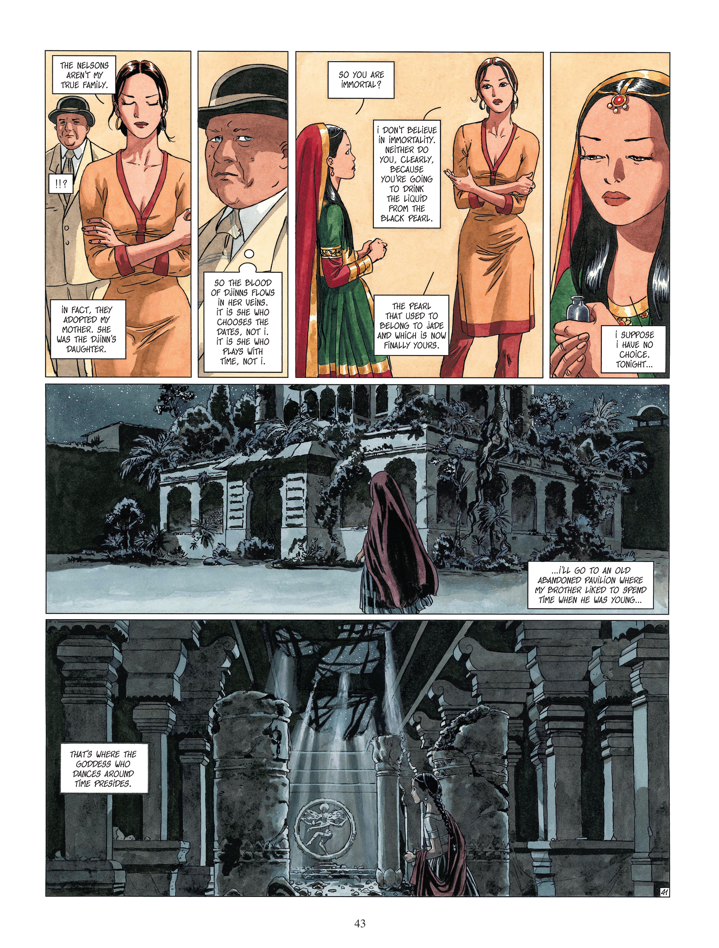 Read online Djinn comic -  Issue #13 - 44