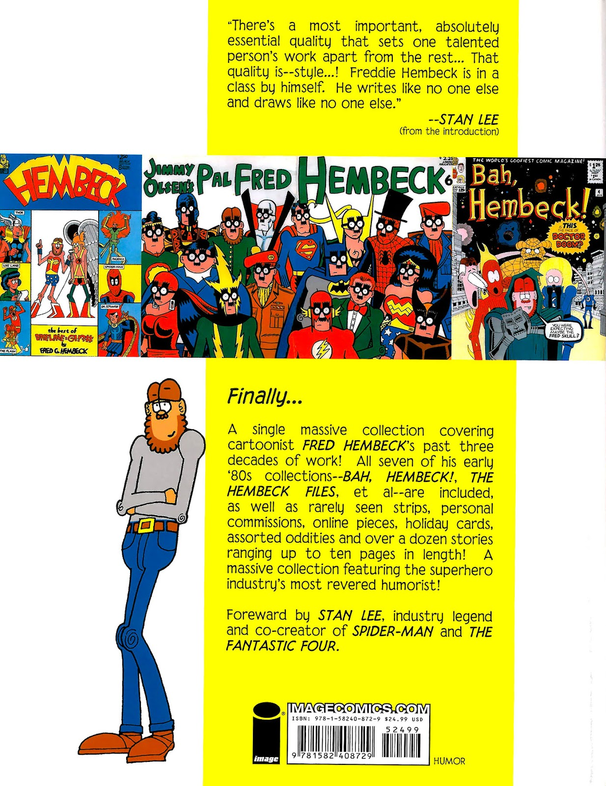 Read online The Nearly Complete Essential Hembeck Archives Omnibus comic -  Issue # TPB (Part 9) - 69