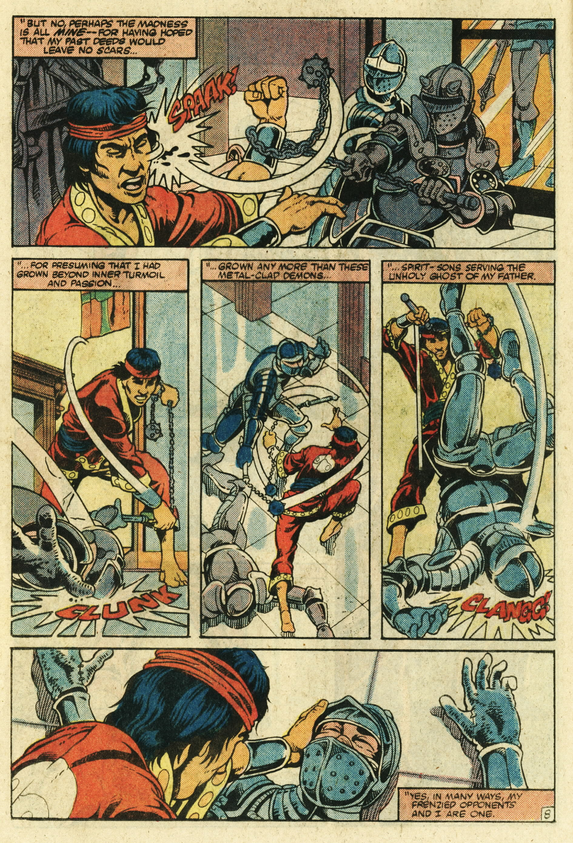 Read online Master of Kung Fu (1974) comic -  Issue #123 - 9