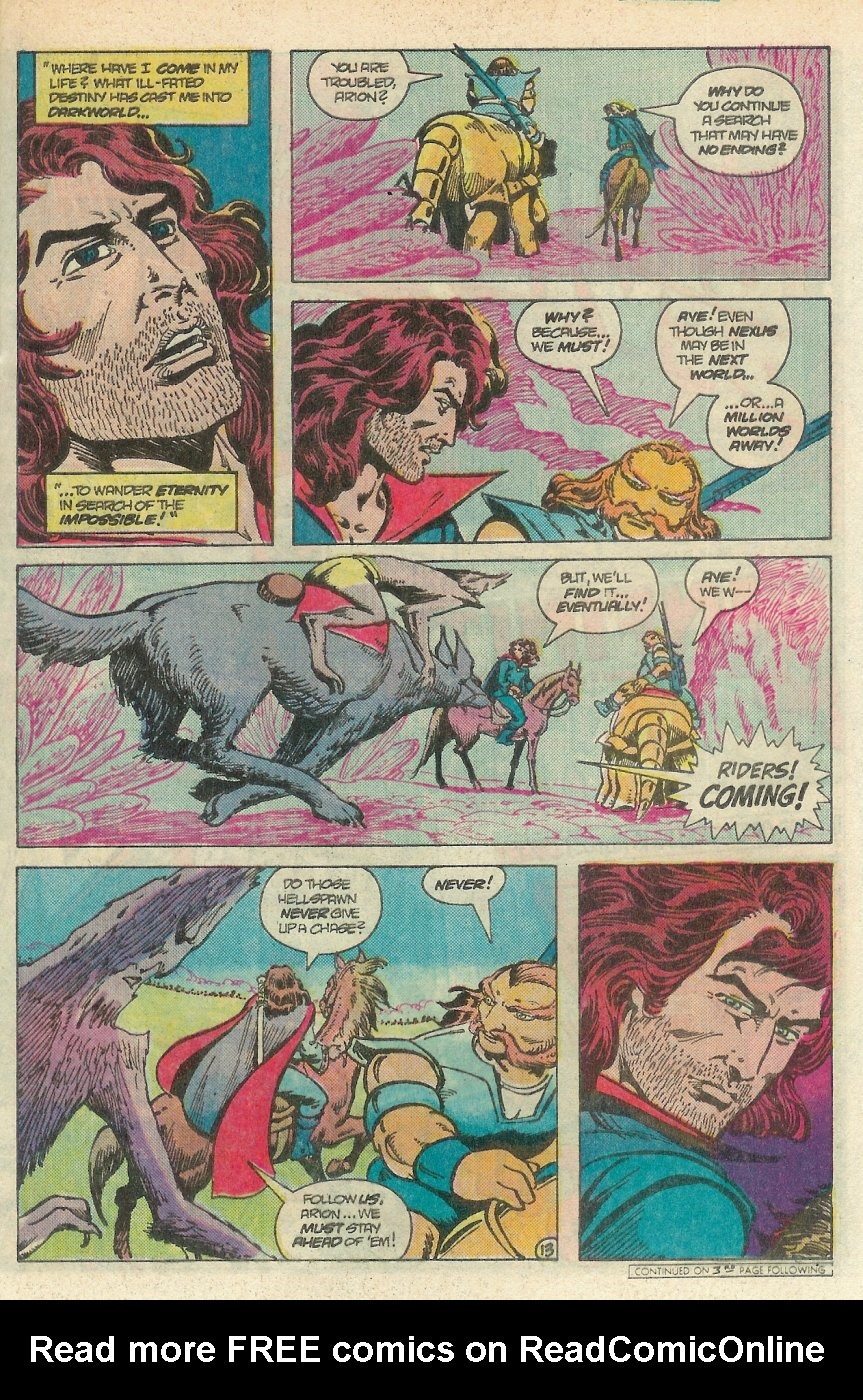 Read online Arion, Lord of Atlantis comic -  Issue #25 - 14