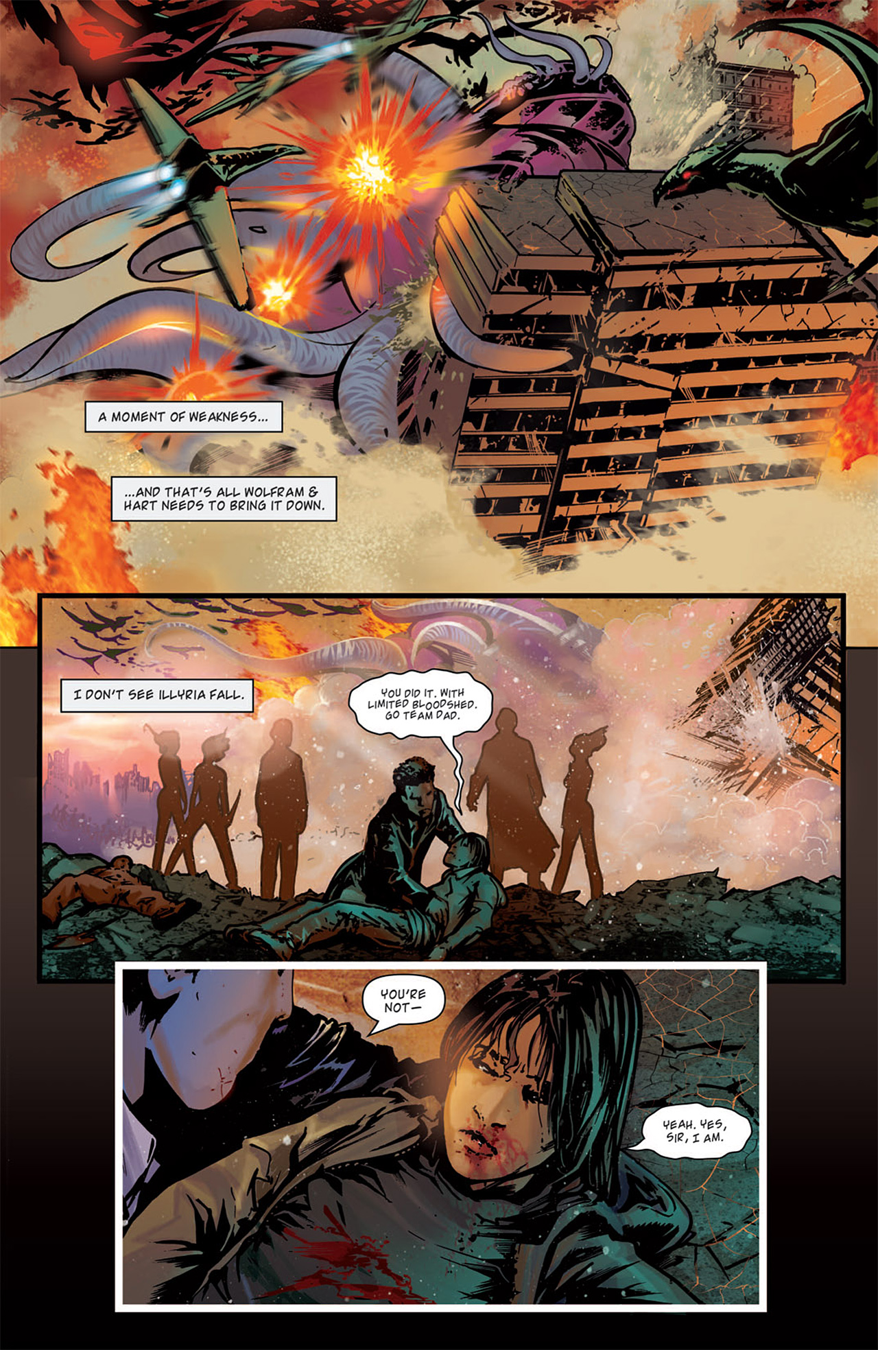 Read online Angel: After The Fall comic -  Issue #15 - 23