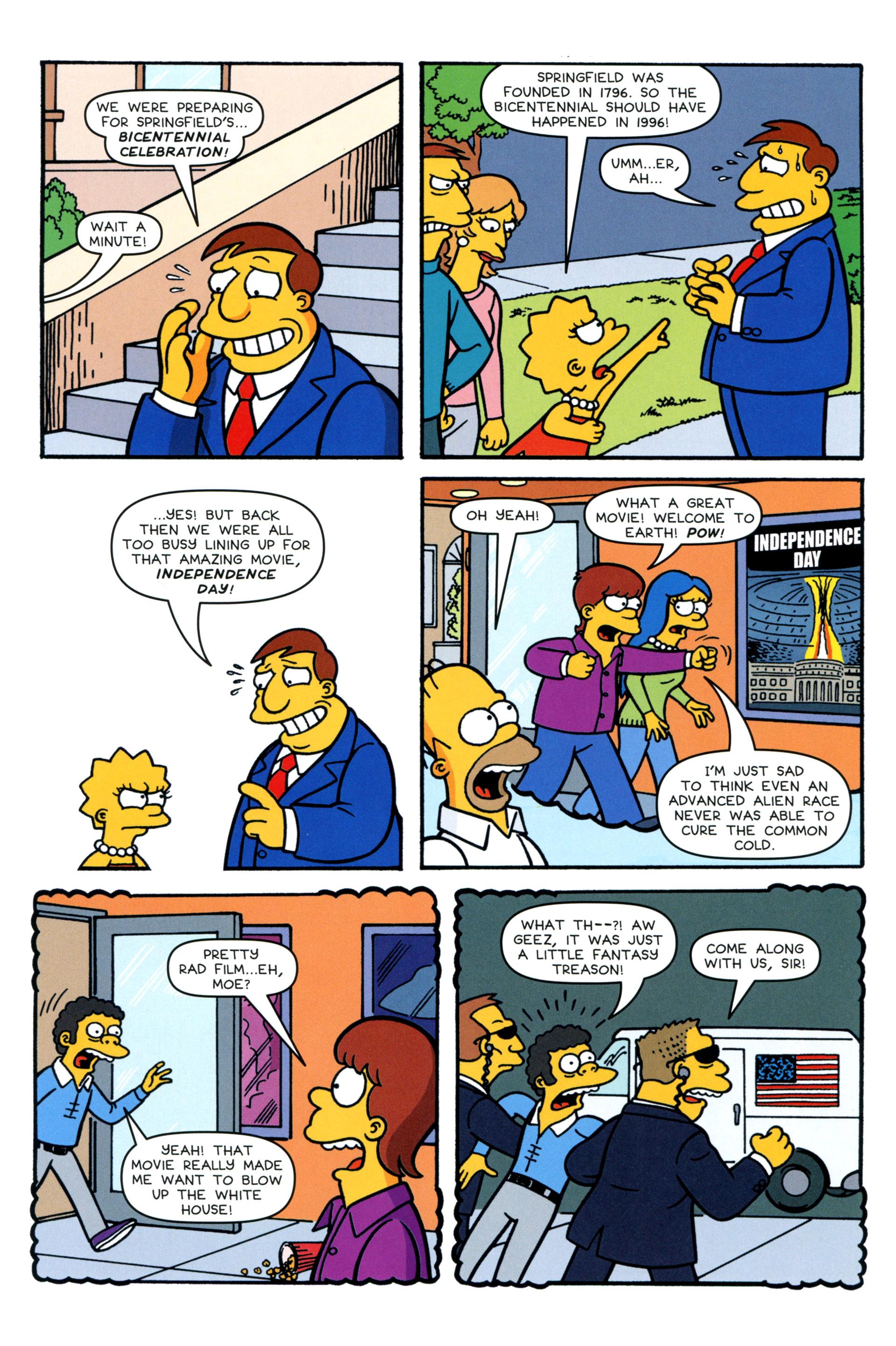 Read online Simpsons Comics comic -  Issue #200 - 8