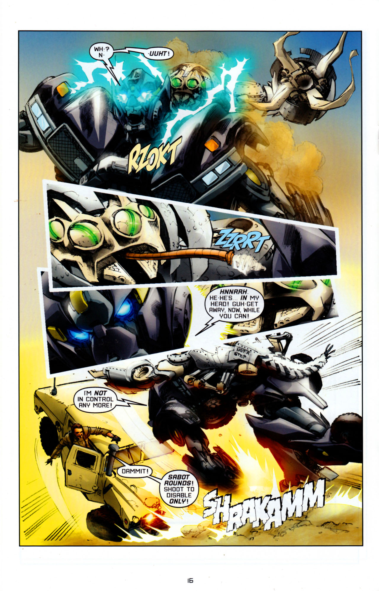 Read online Transformers: Saga of the Allspark comic -  Issue #4 - 19